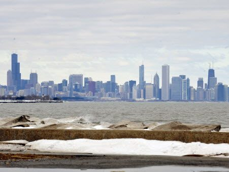 The weather service issued a Beach Hazards Statement for Cook county.