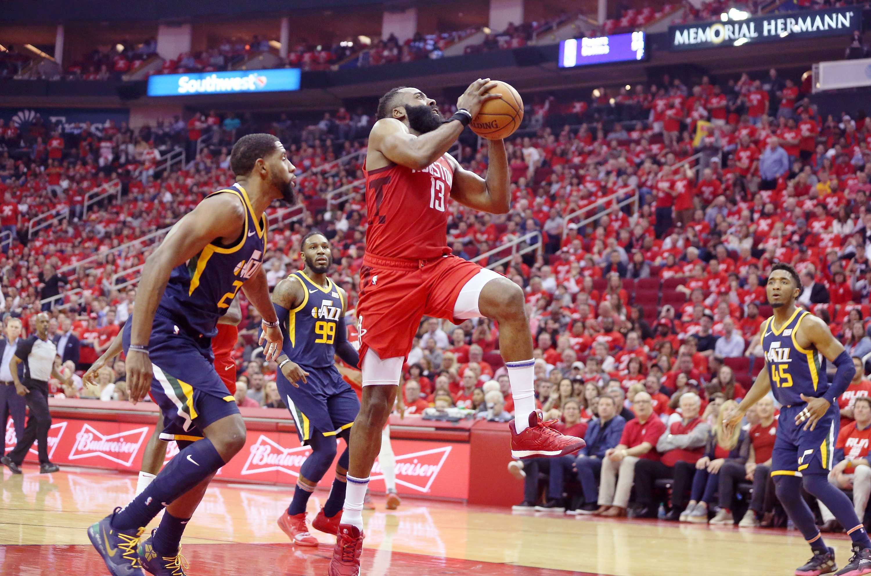 Rockets vs. Jazz score: James Harden beats the scheme