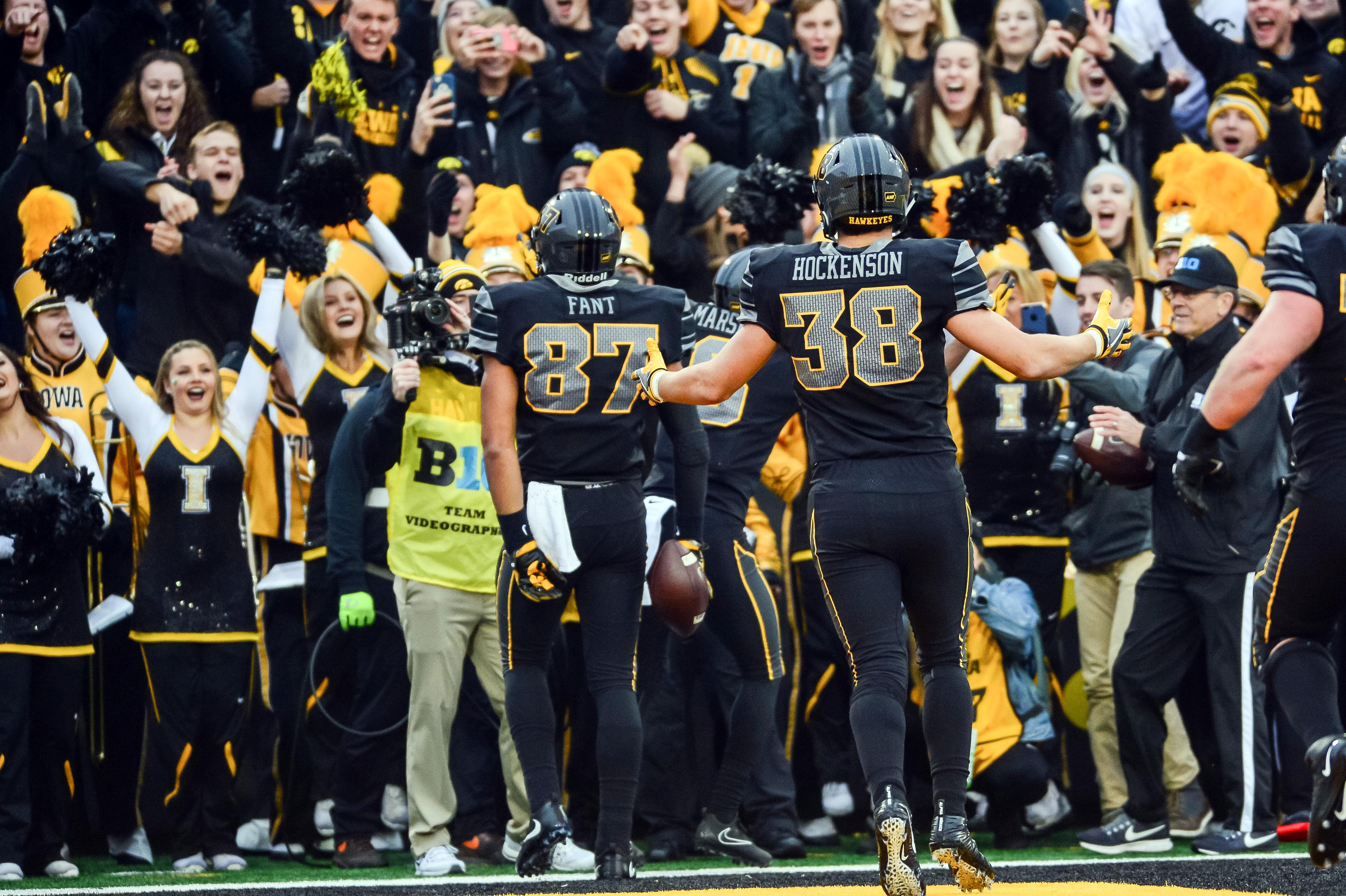 T.J. Hockenson, Noah Fant, George Kittle show Iowa's opportunity