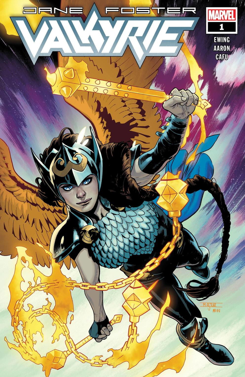 Marvel Comics reveals an unexpected, new Valkyrie