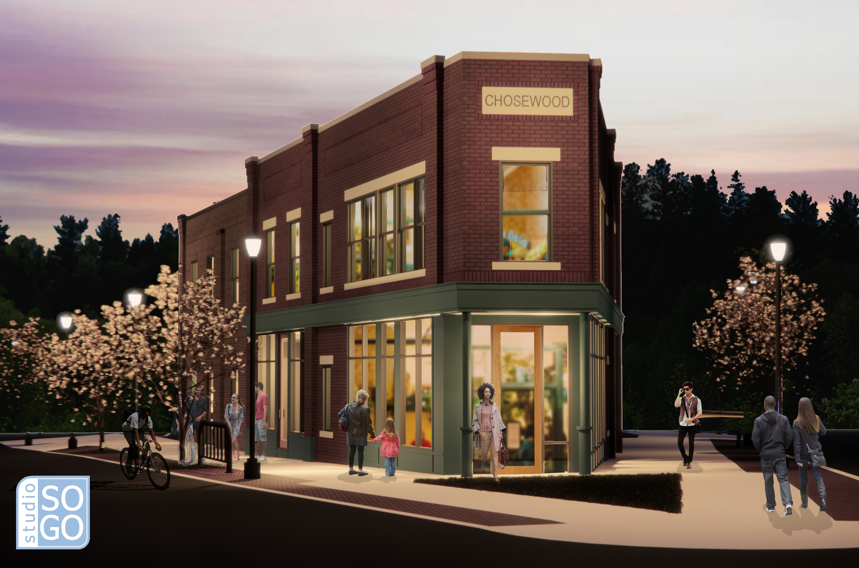 Rookie developer plans Chosewood Park mixed-use build with 'affordable' housing