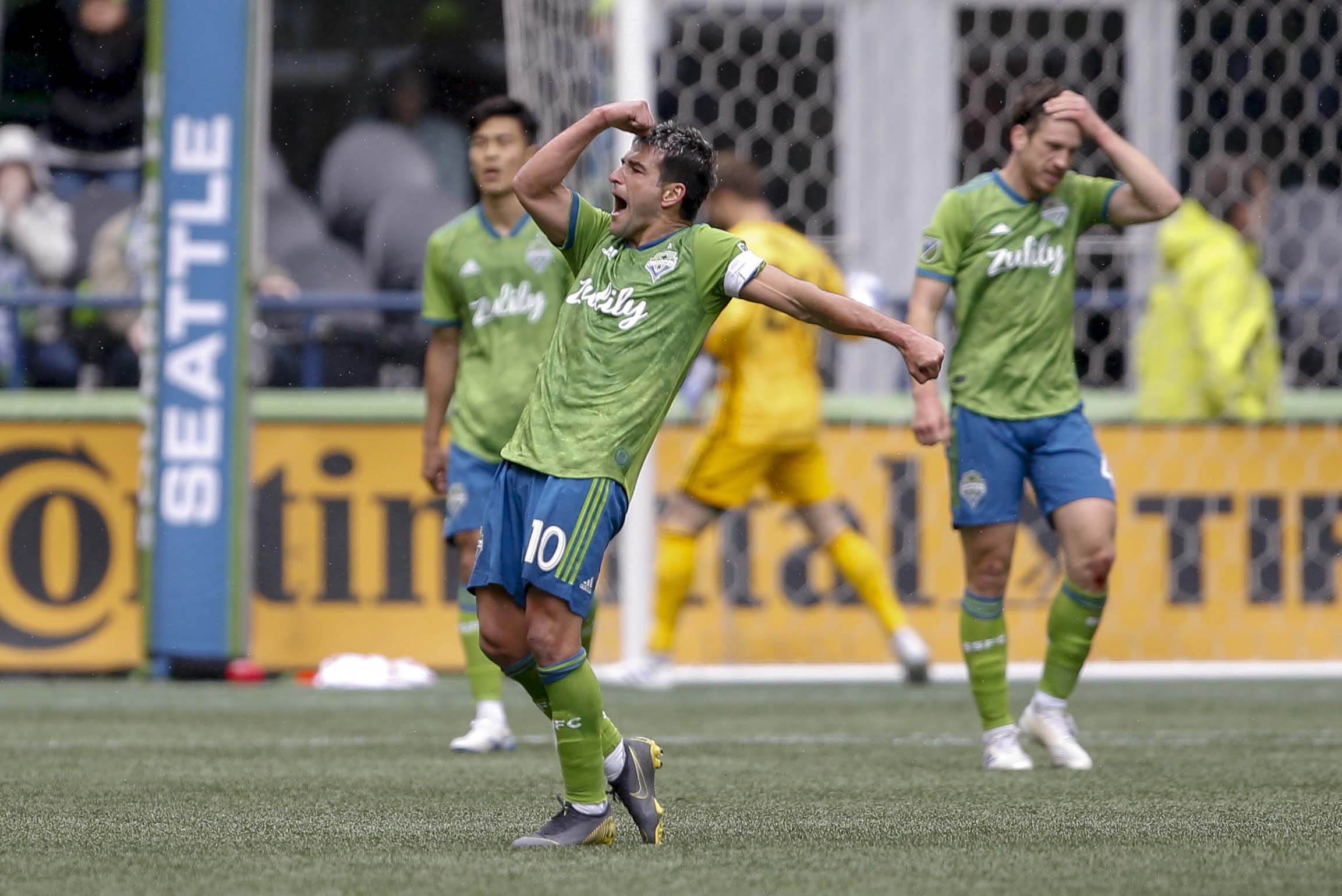 MLS:多伦多FC在西雅图海湾FC
