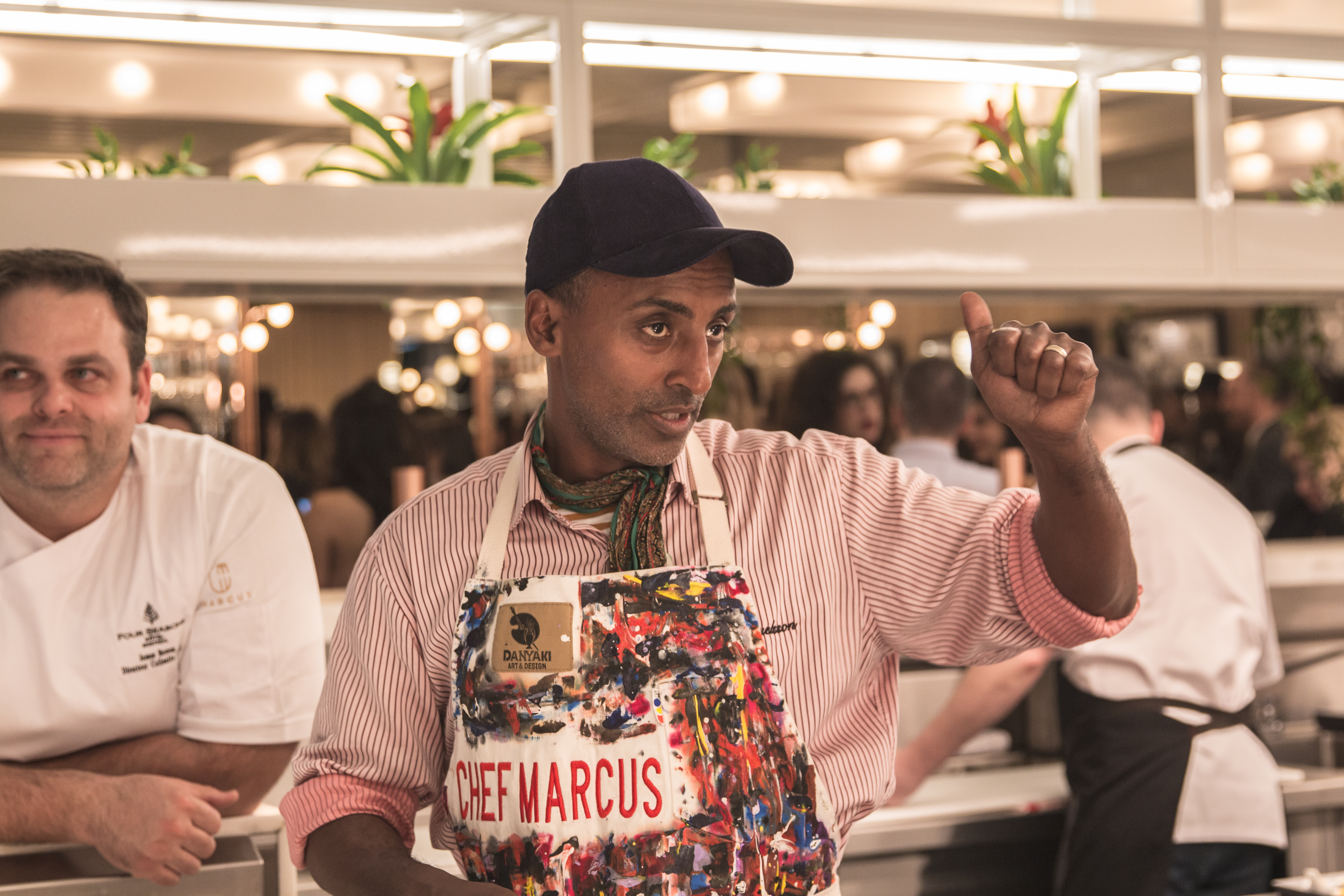 Here's Your First Look Inside Marcus Samuelsson's New Montreal Restaurant