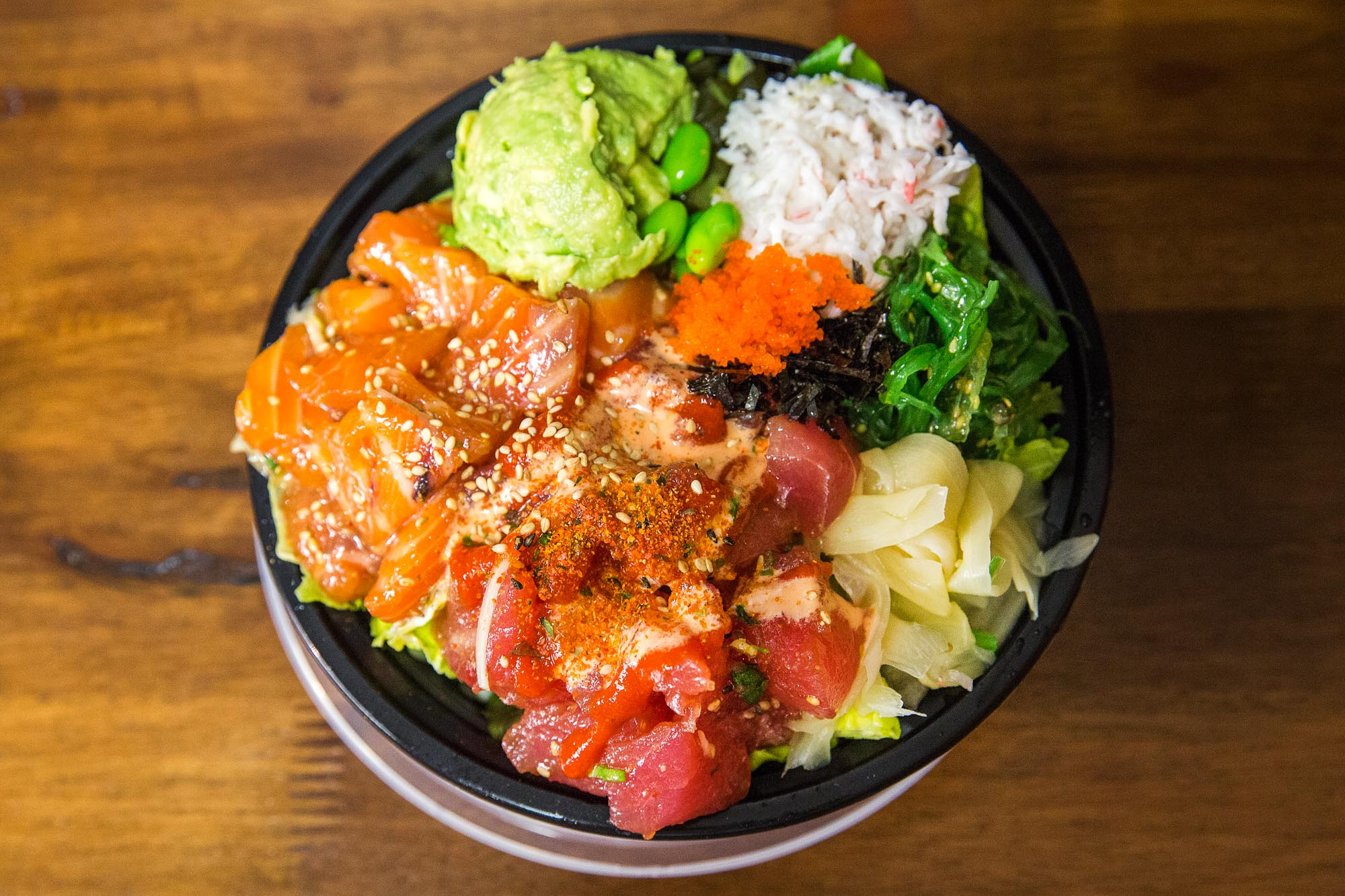 South Lake Union Just Got An Exciting New Poke With Kimchi Edamame