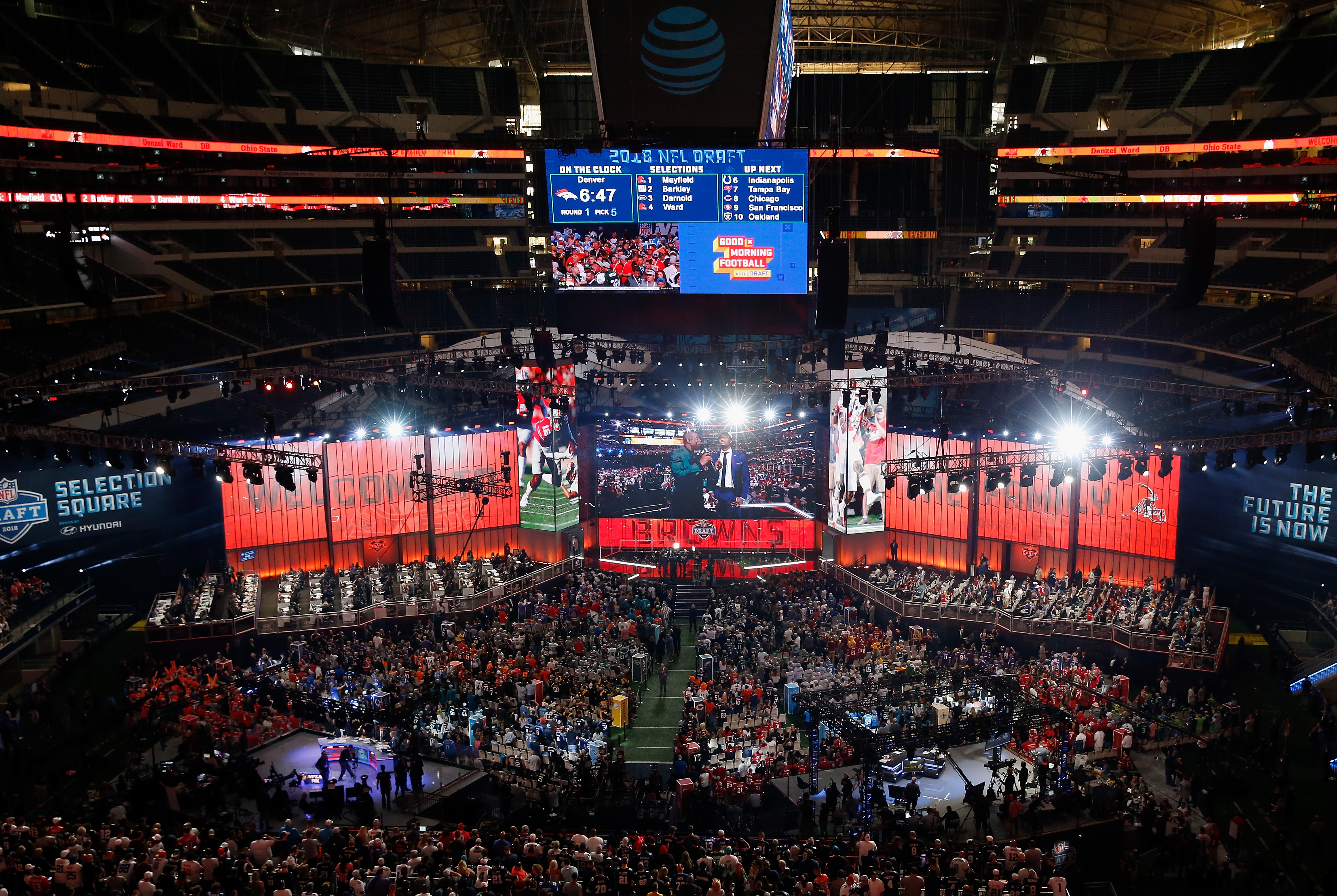 A running list of the greatest botched pick announcements in NFL Draft history