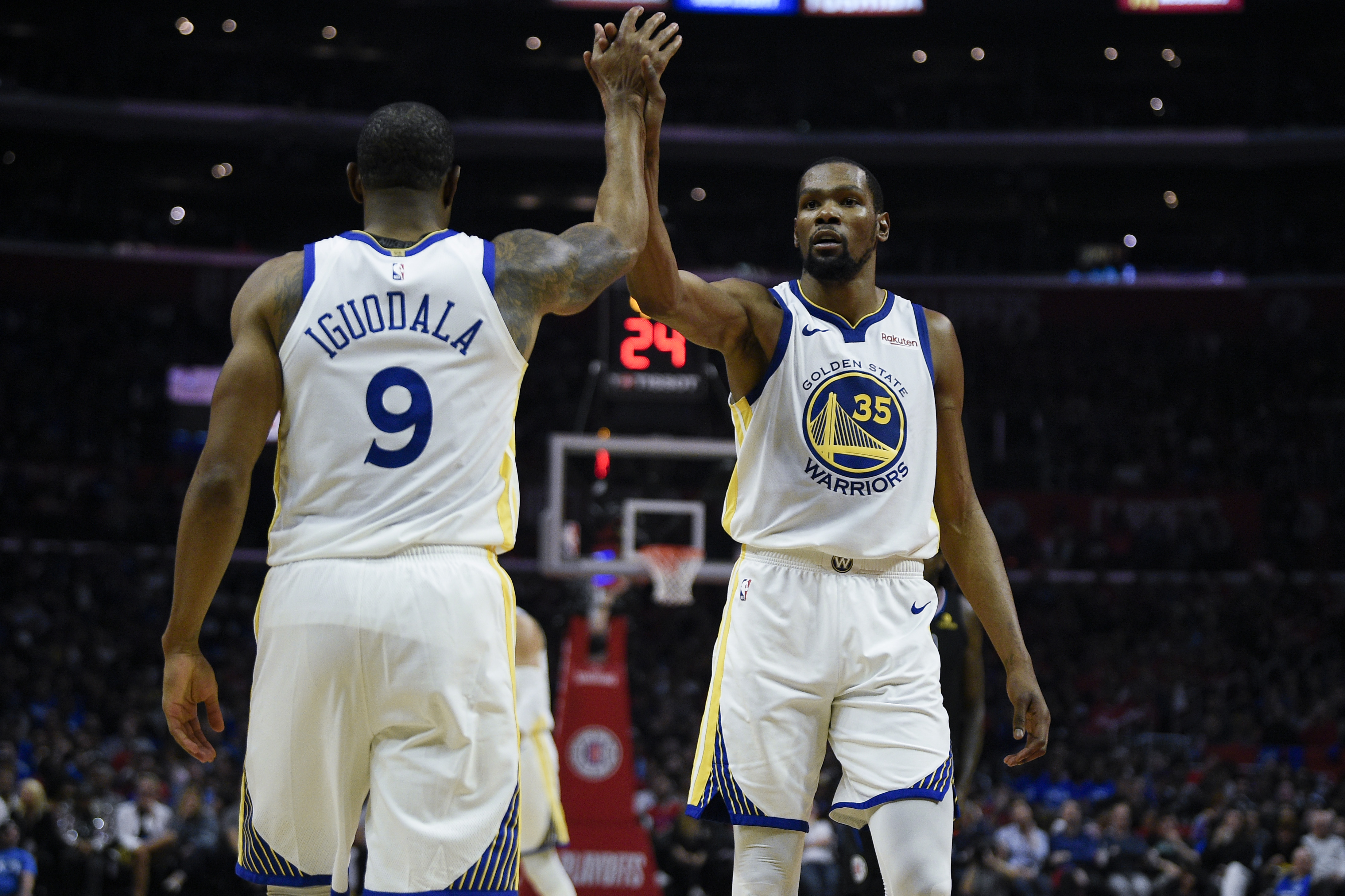 Clippers vs. Warriors: Kevin Durant made sure everyone knew who he was