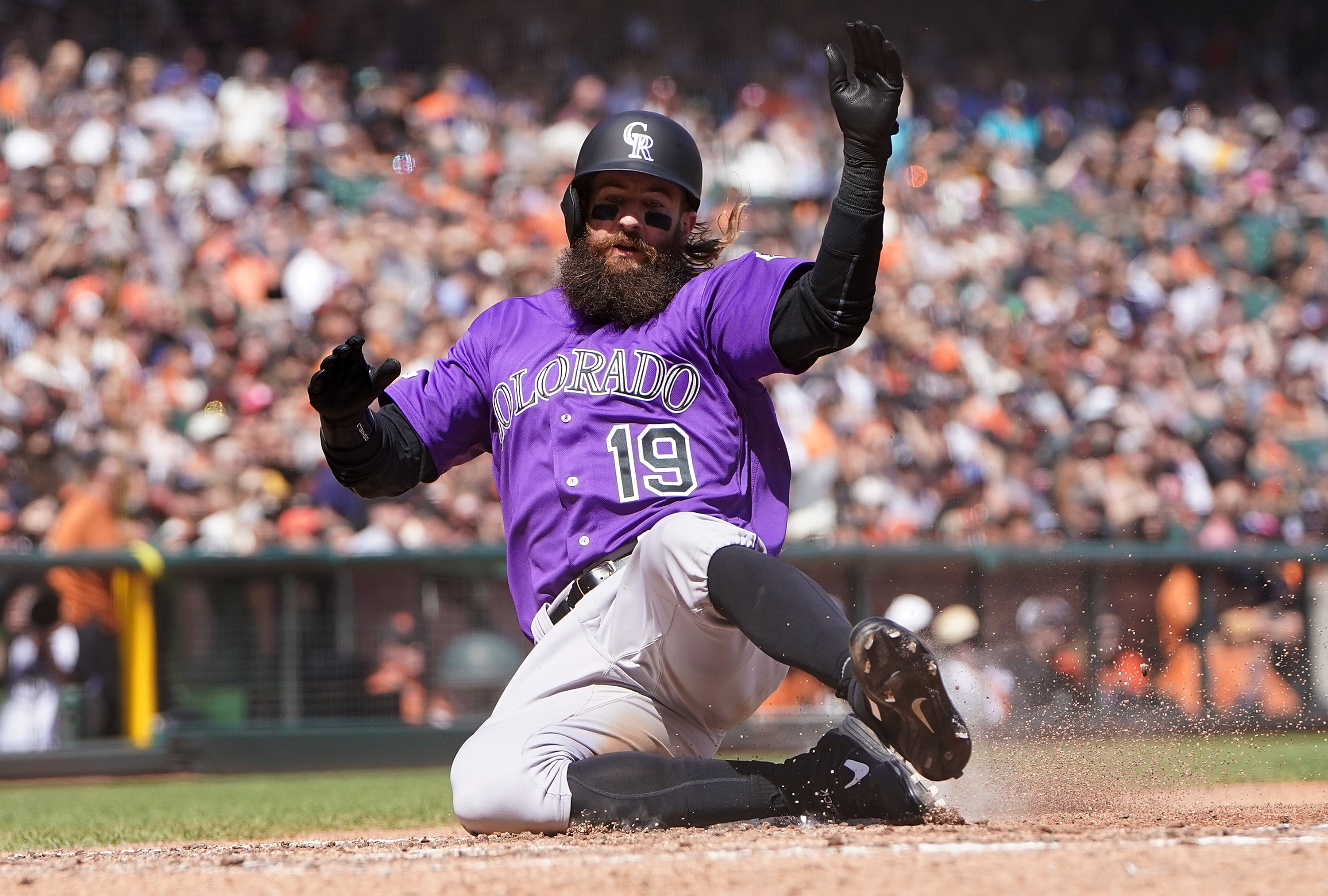 This Week In Purple Is It Time To Worry About Charlie Blackmon