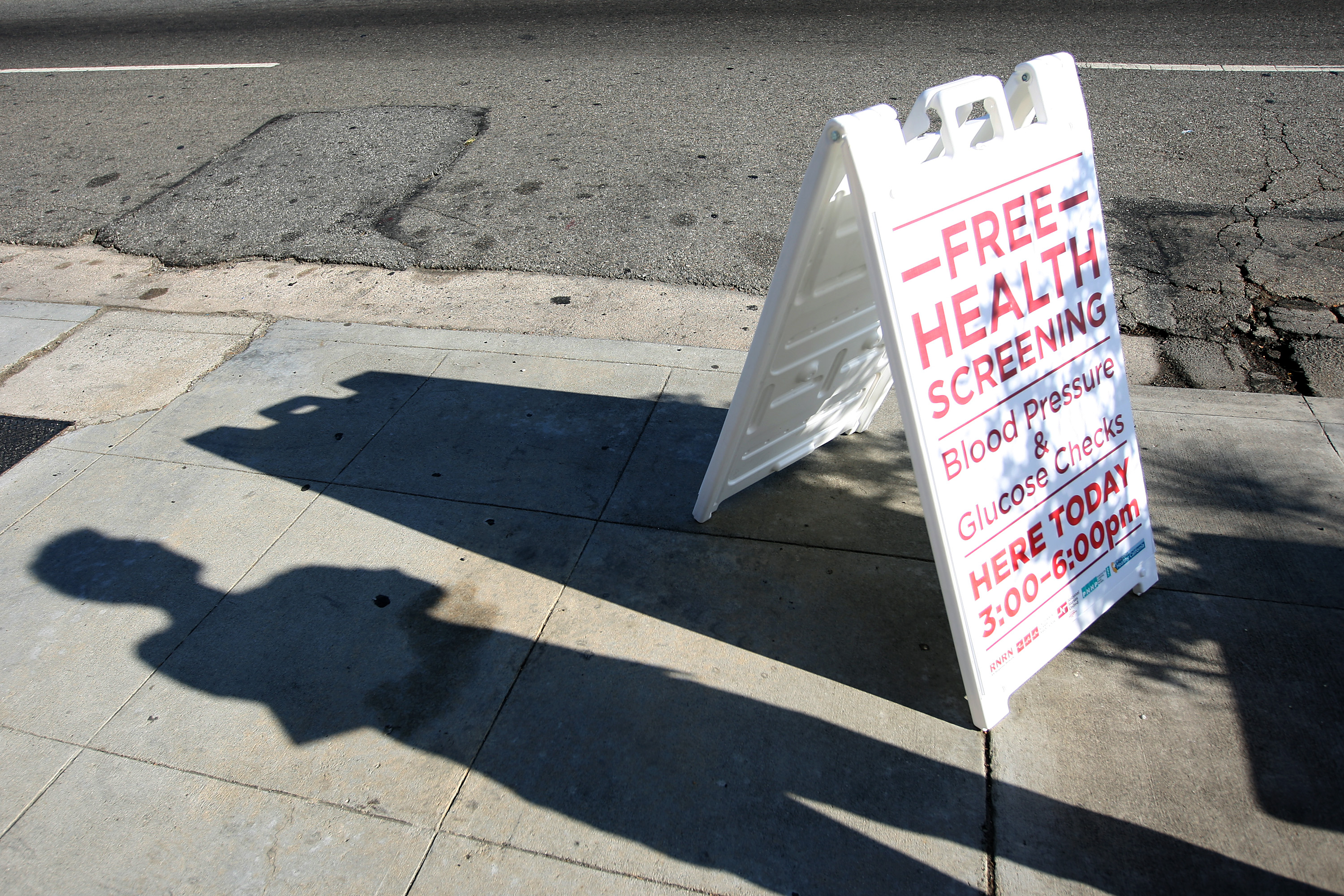 Health Care Activists Offer Free Health Screenings In Los Angeles