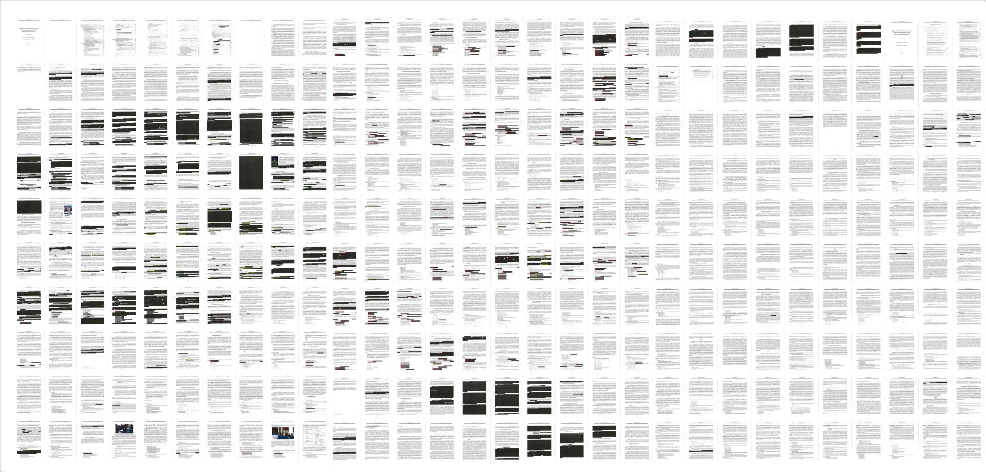 The Mueller report redactions, explained in 4 charts