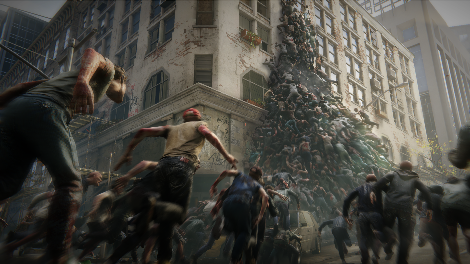 World War Z is an OK multiplayer game elevated by hilarious zombie physics