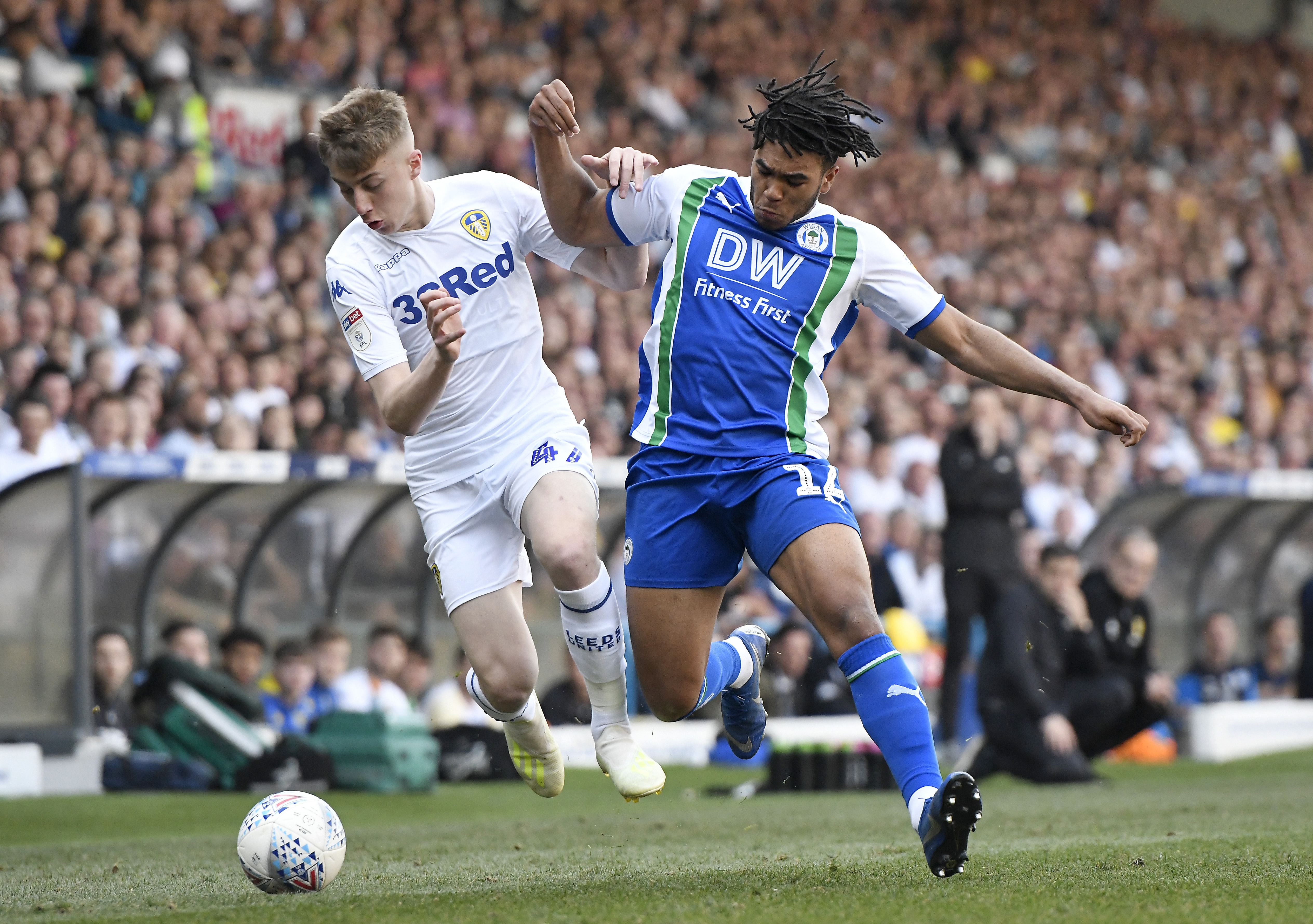 Match Recap: Leeds United blow chance to get three points as they lose 1-2 to 10 man Wigan