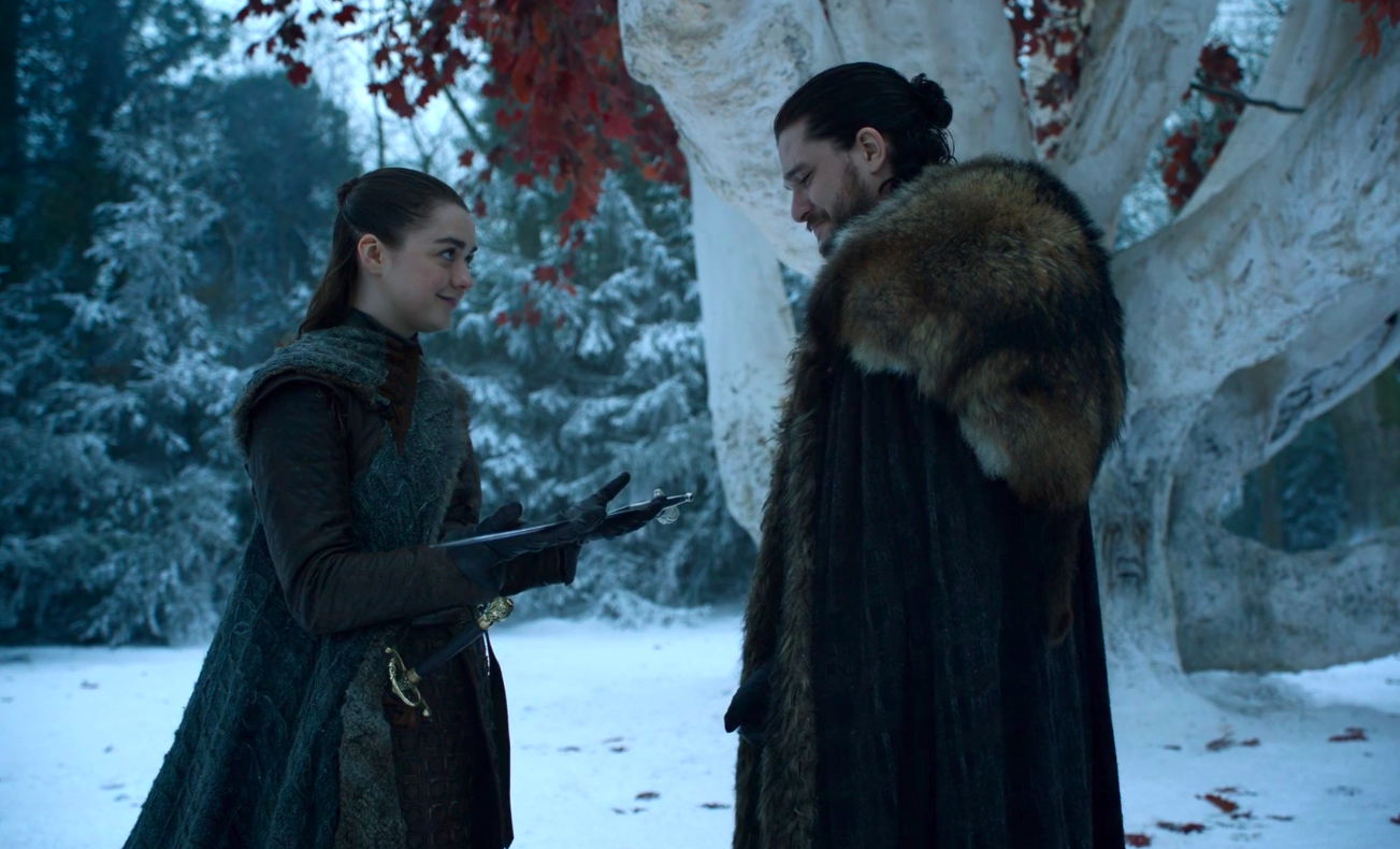 The Game of Thrones books give greater meaning to Jon and Arya's reunion