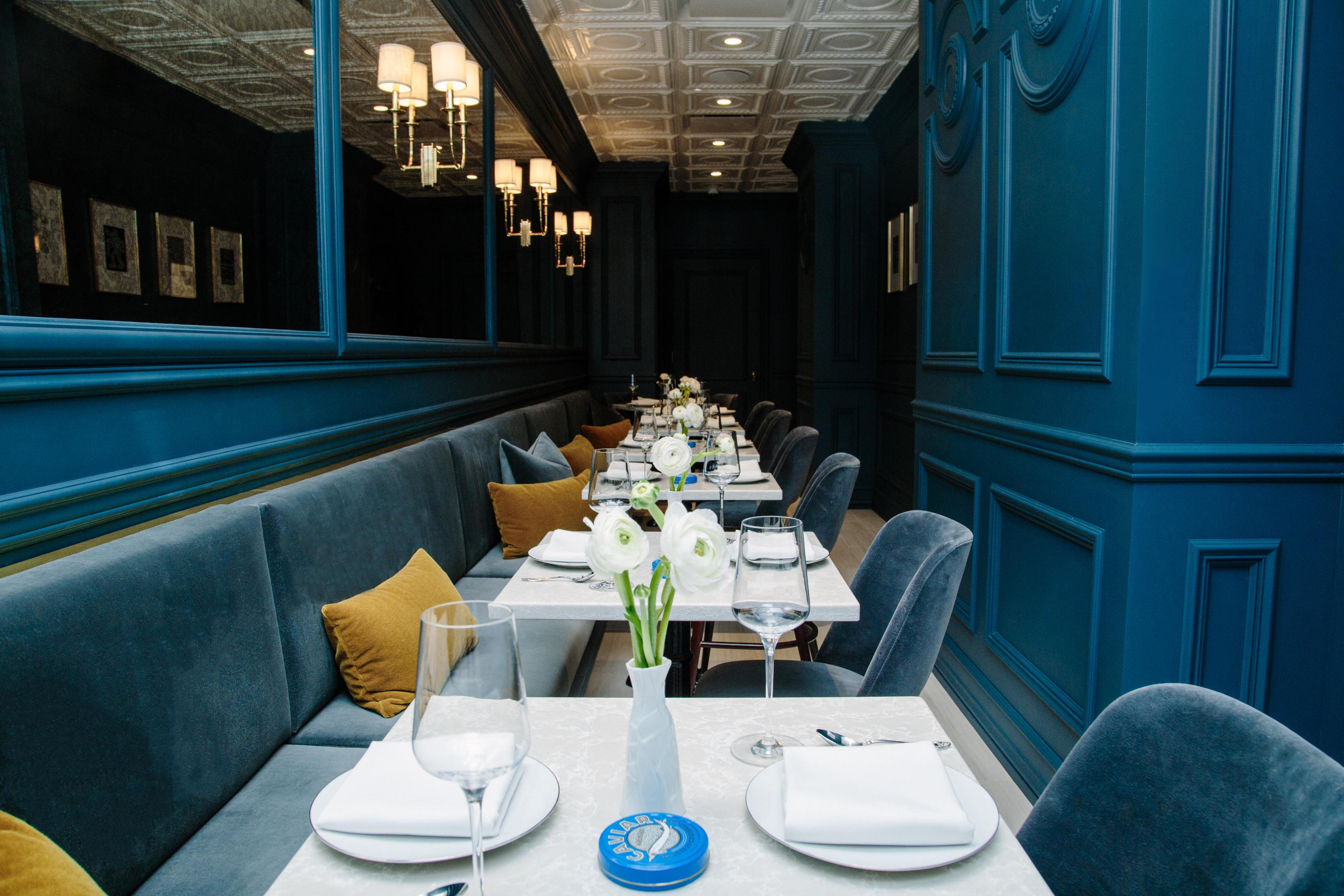 A Very Posh Caviar Cafe Helmed by an EMP Alum Has Opened on the UES