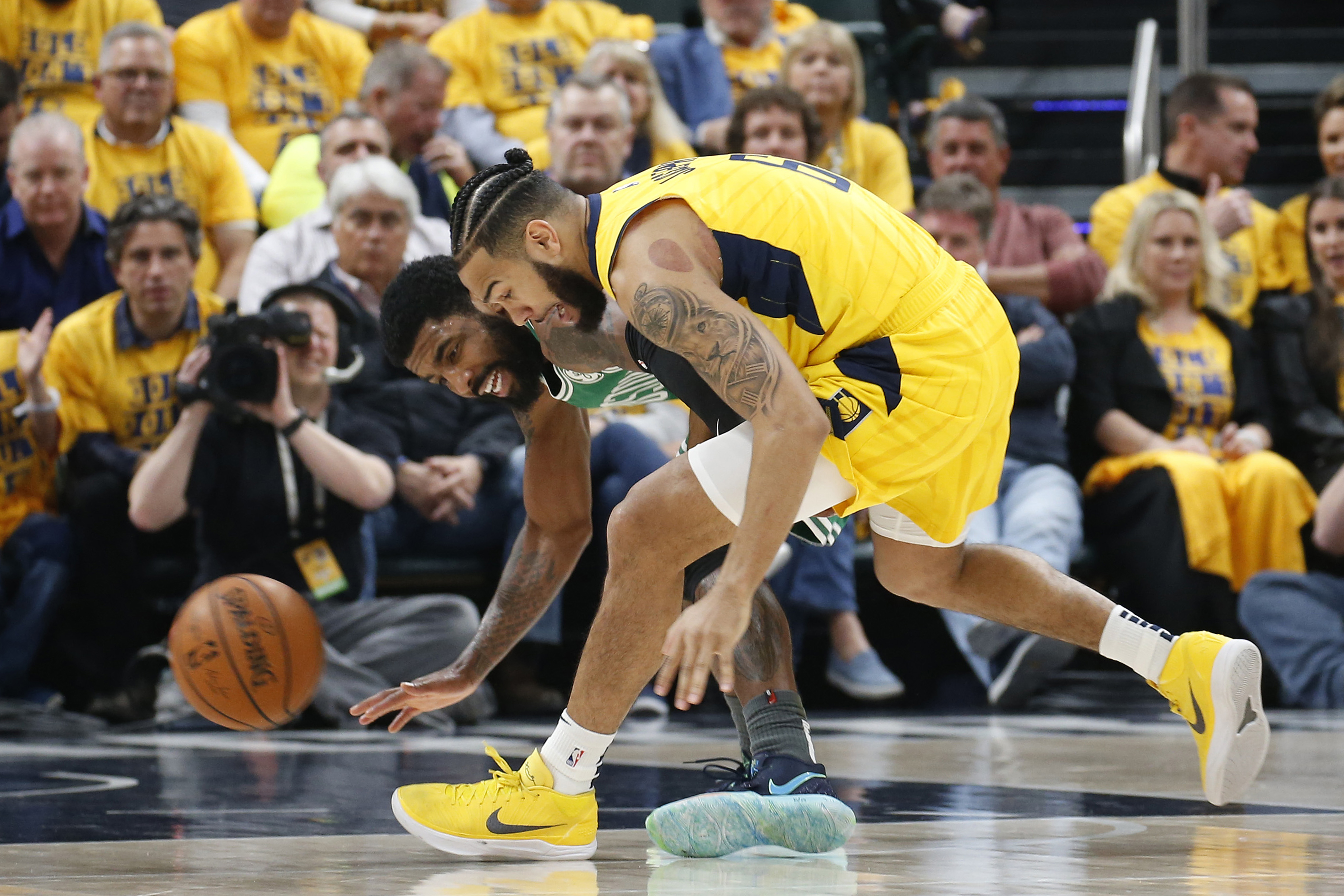 df75e4a52 Pacers playoff final score  Pacers fall short in 104-96 loss to Celtics