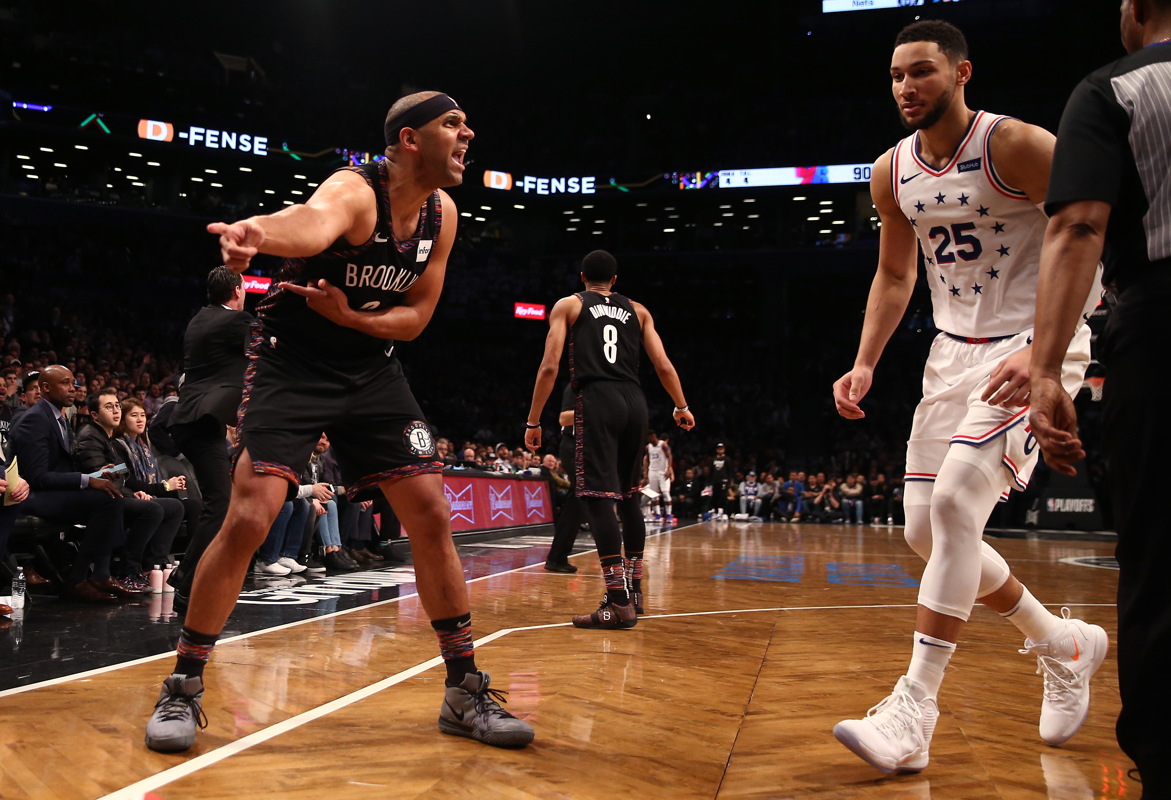 Nets-76ers fight: The simmering Ben Simmons vs. Jared Dudley beef finally boiled over