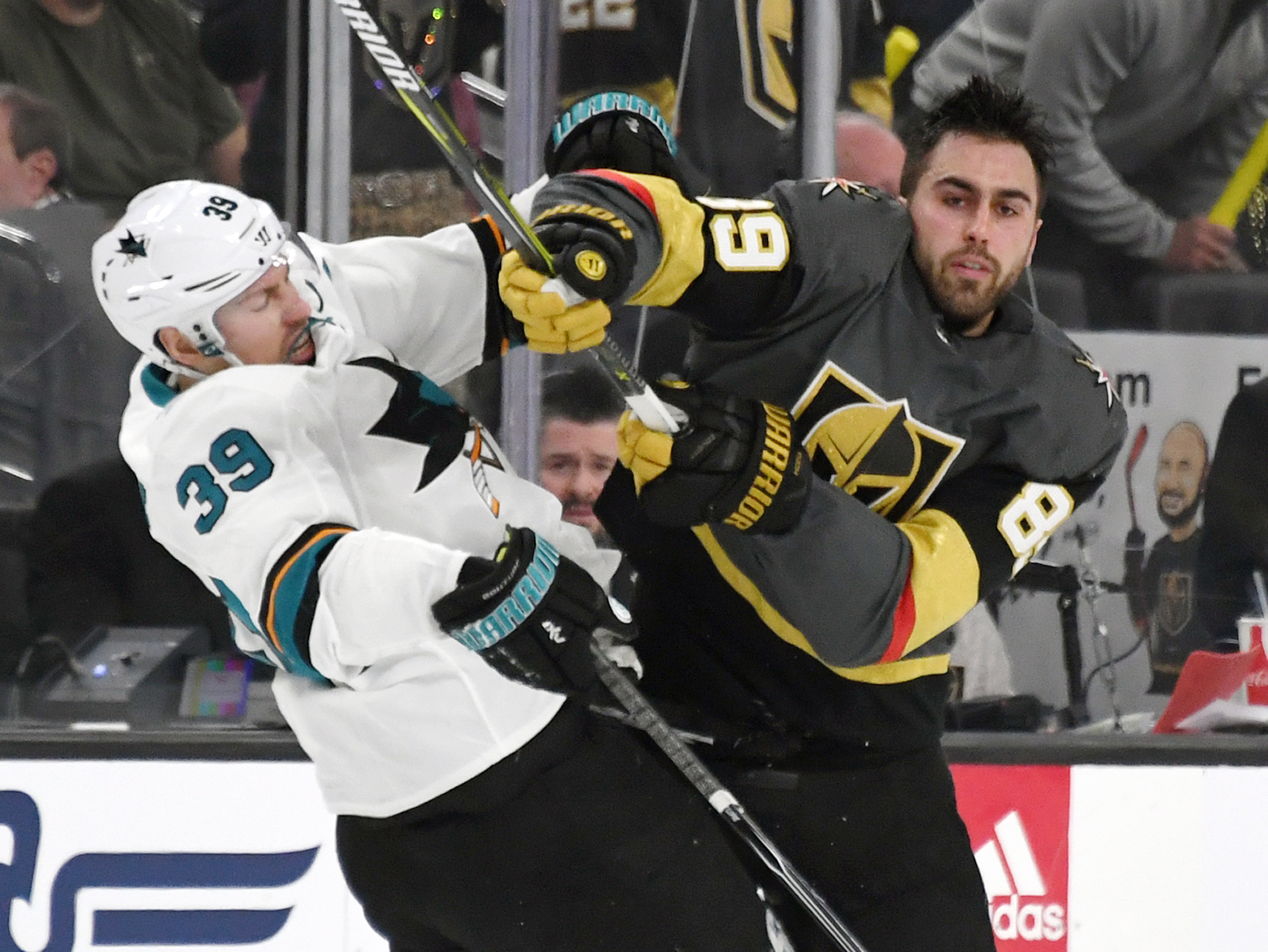 San Jose Sharks v Vegas Golden Knights - Game Three