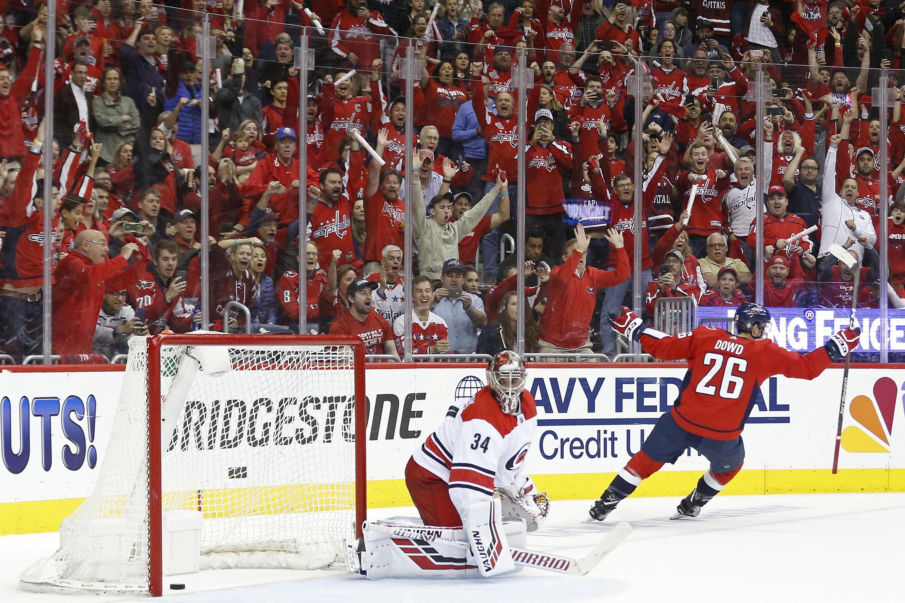 NHL: Stanley Cup Playoffs-Carolina Hurricanes at Washington Capitals