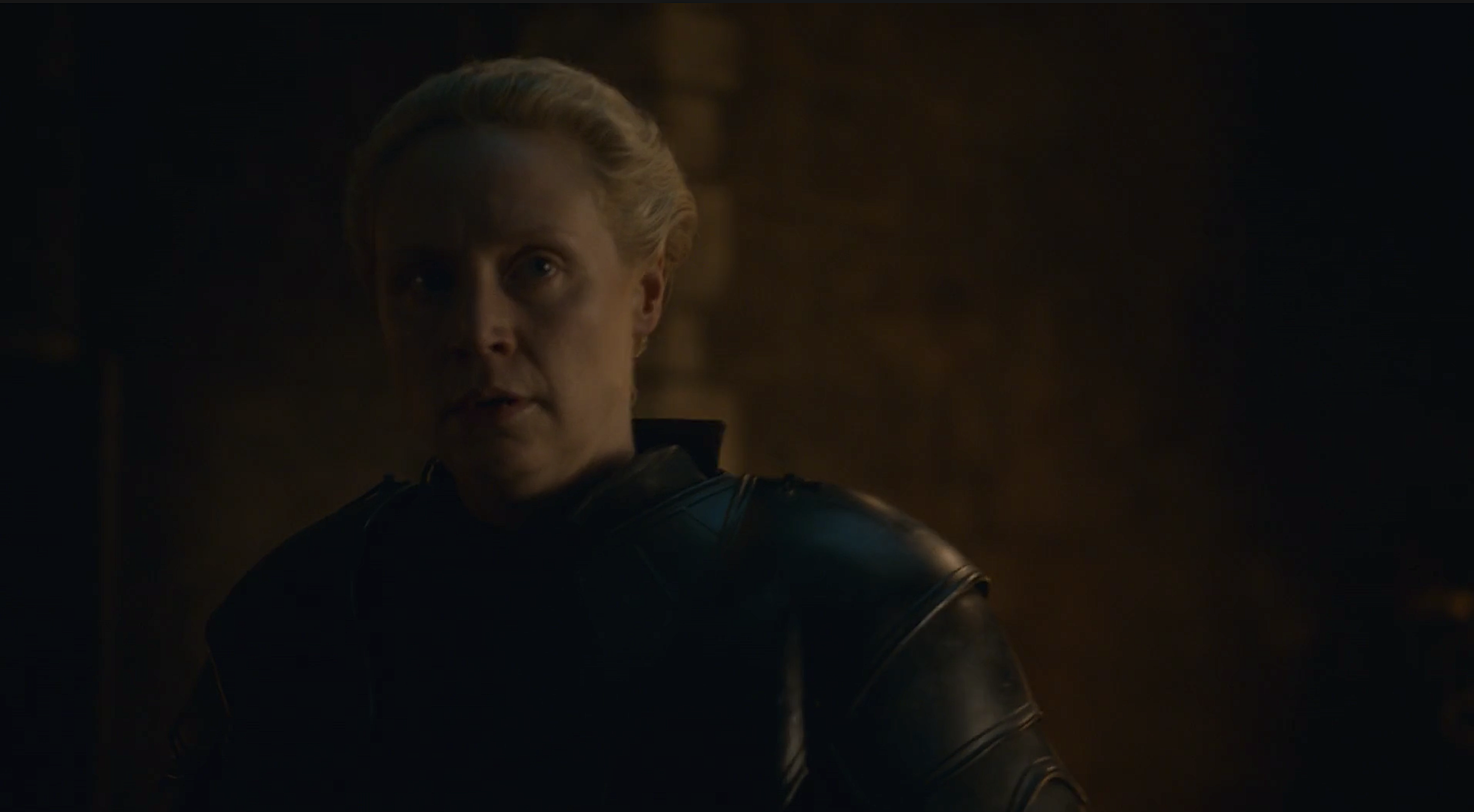 A Knight of the Seven Kingdoms hints at Brienne's fitting