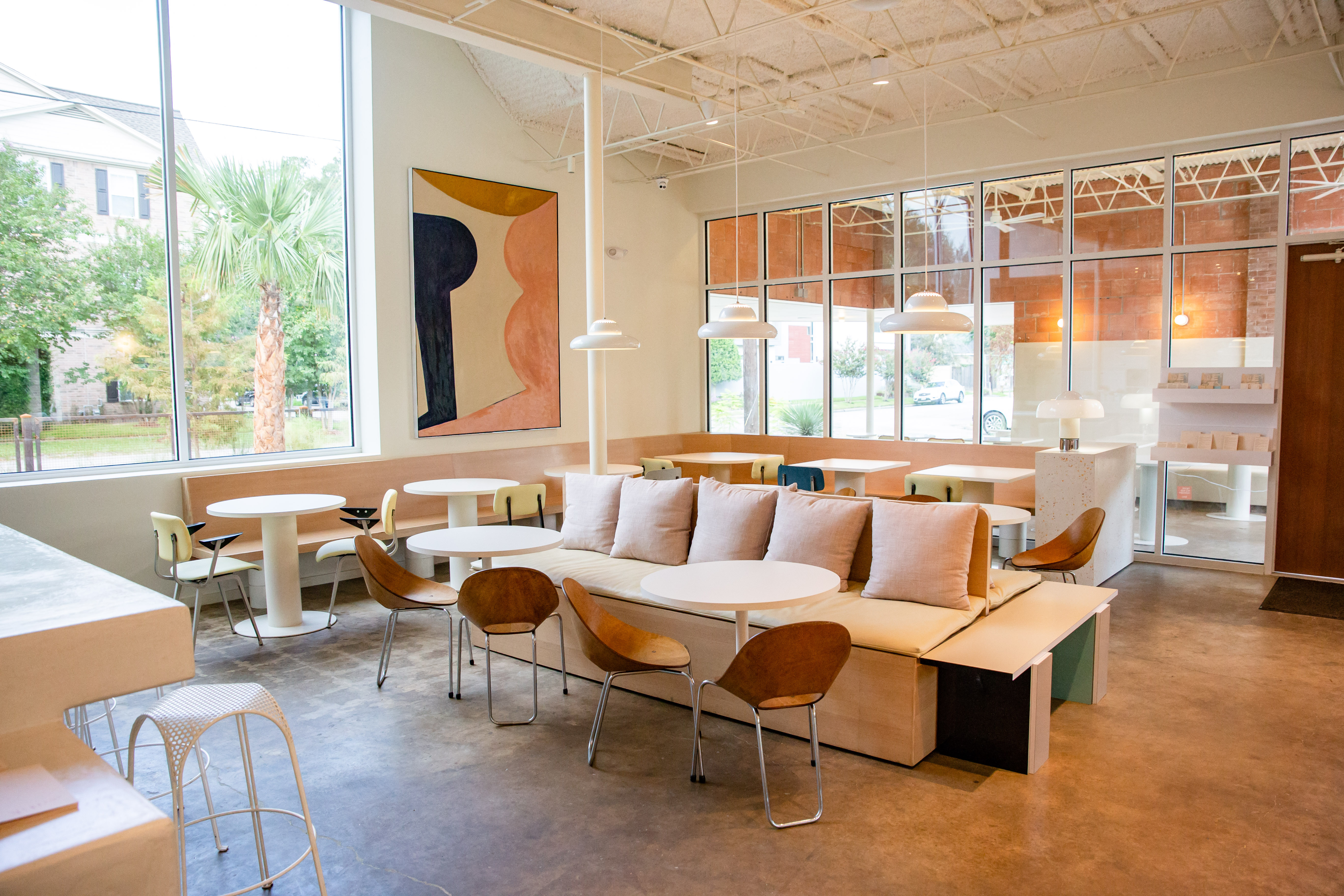 How An Old Montrose Dry Cleaners Was Transformed Into One of Houston's Most Stunning Restaurants