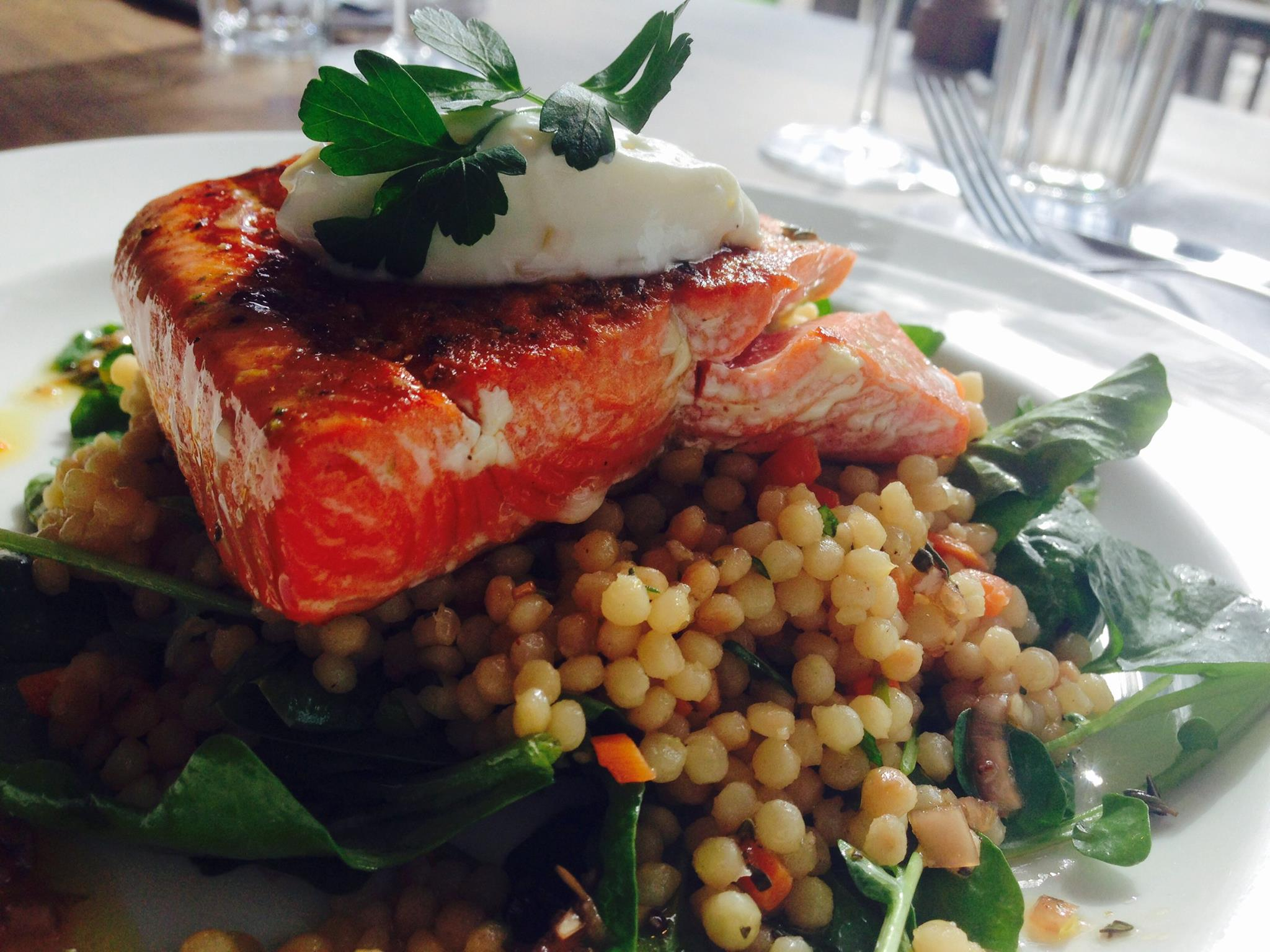 Salmon at The Kitchen