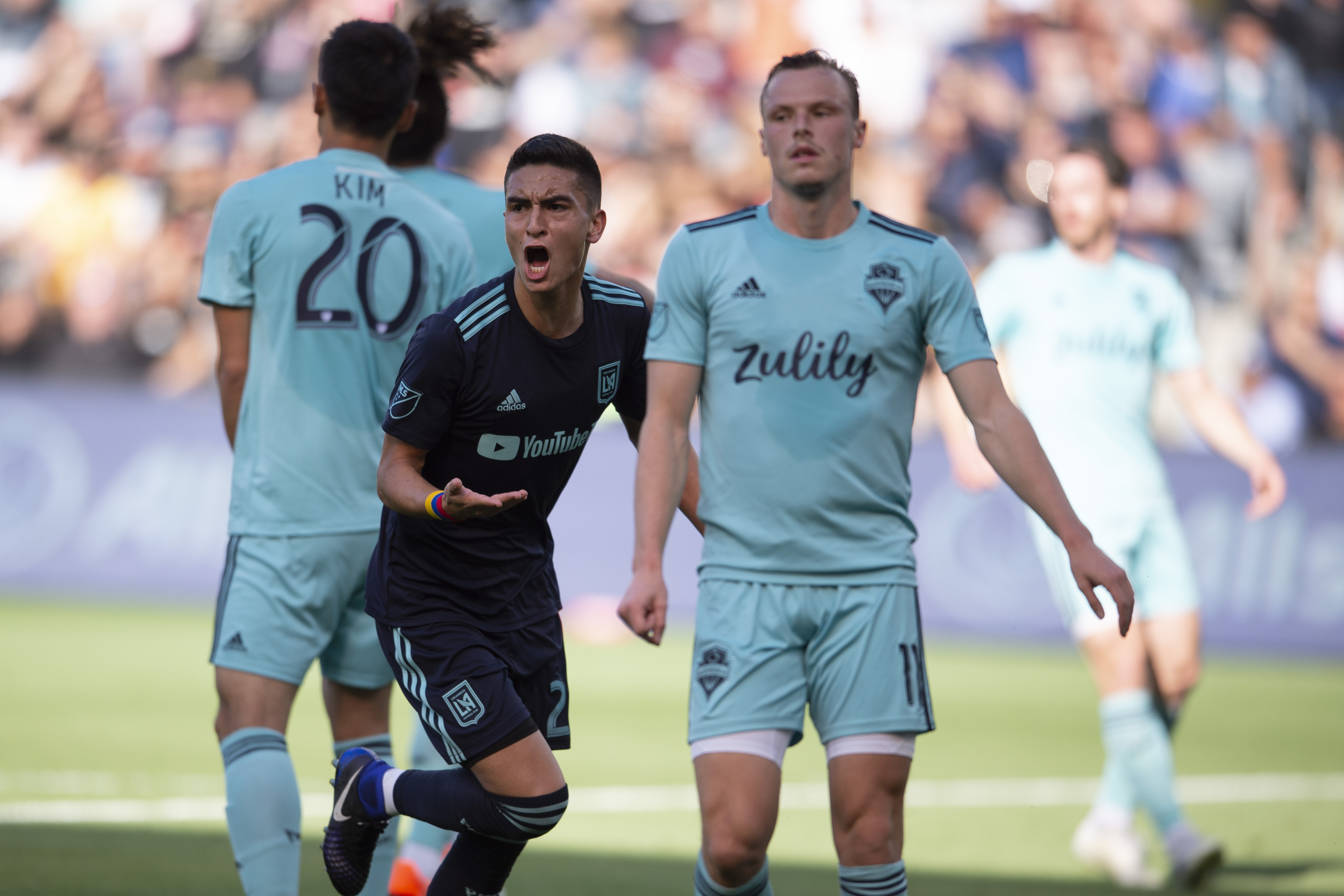 MLS: Seattle Sounders FC at Los Angeles FC