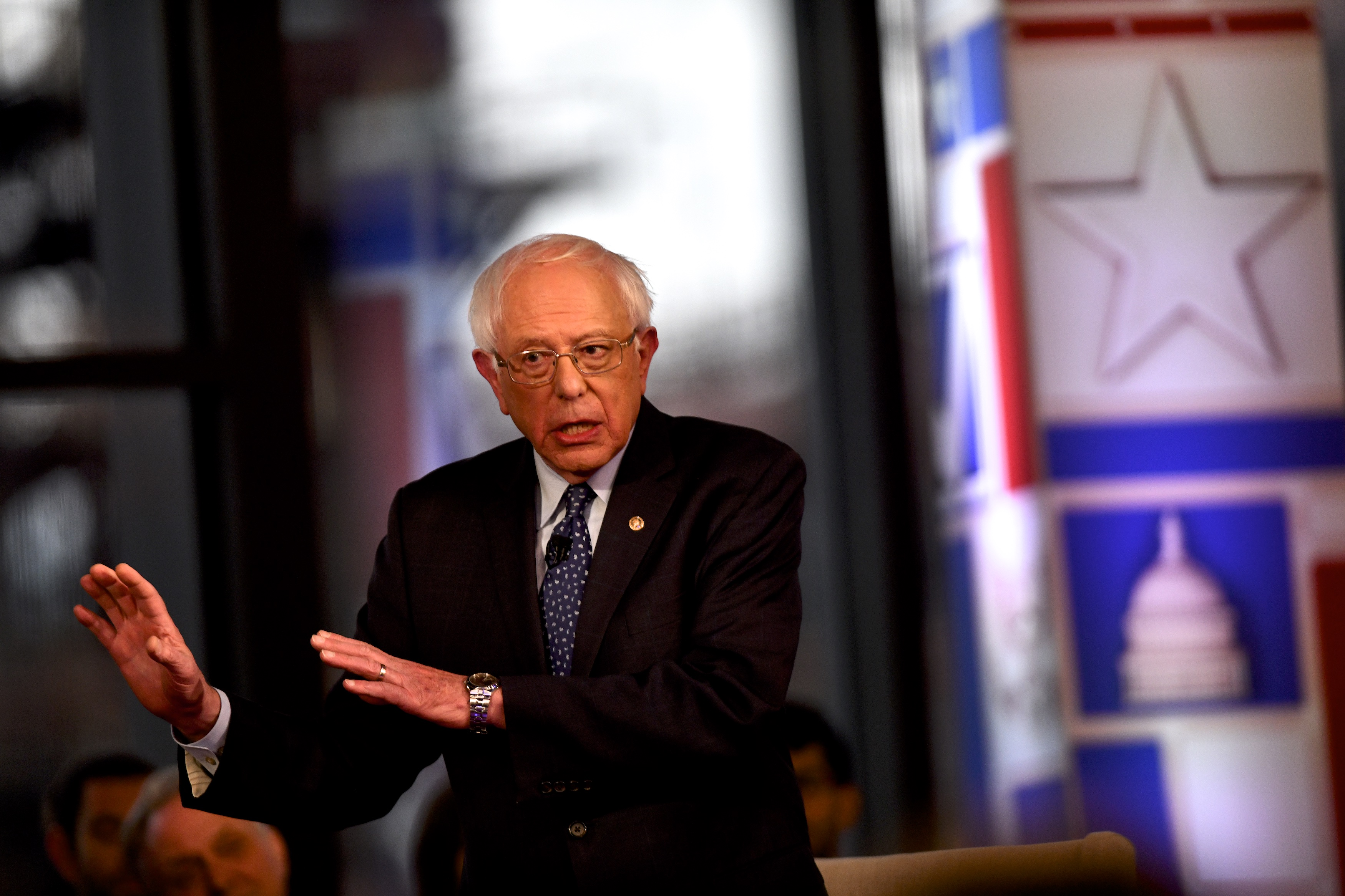 CNN town hall: Here's how Bernie Sanders handled a pointed question about Soviet Communism