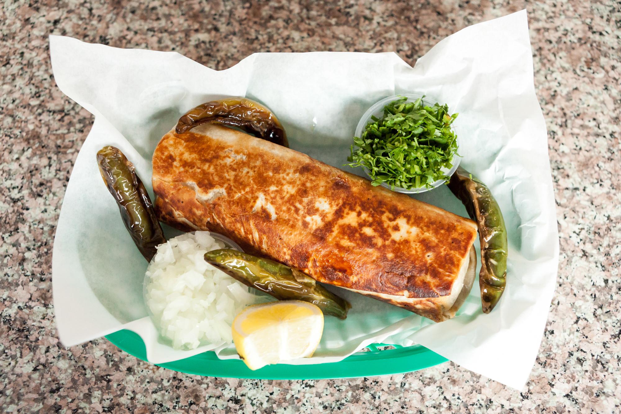 The Story of La Taqueria's Remastered Mission-Style Burrito