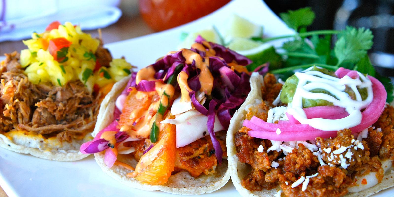 Tacos at Comida