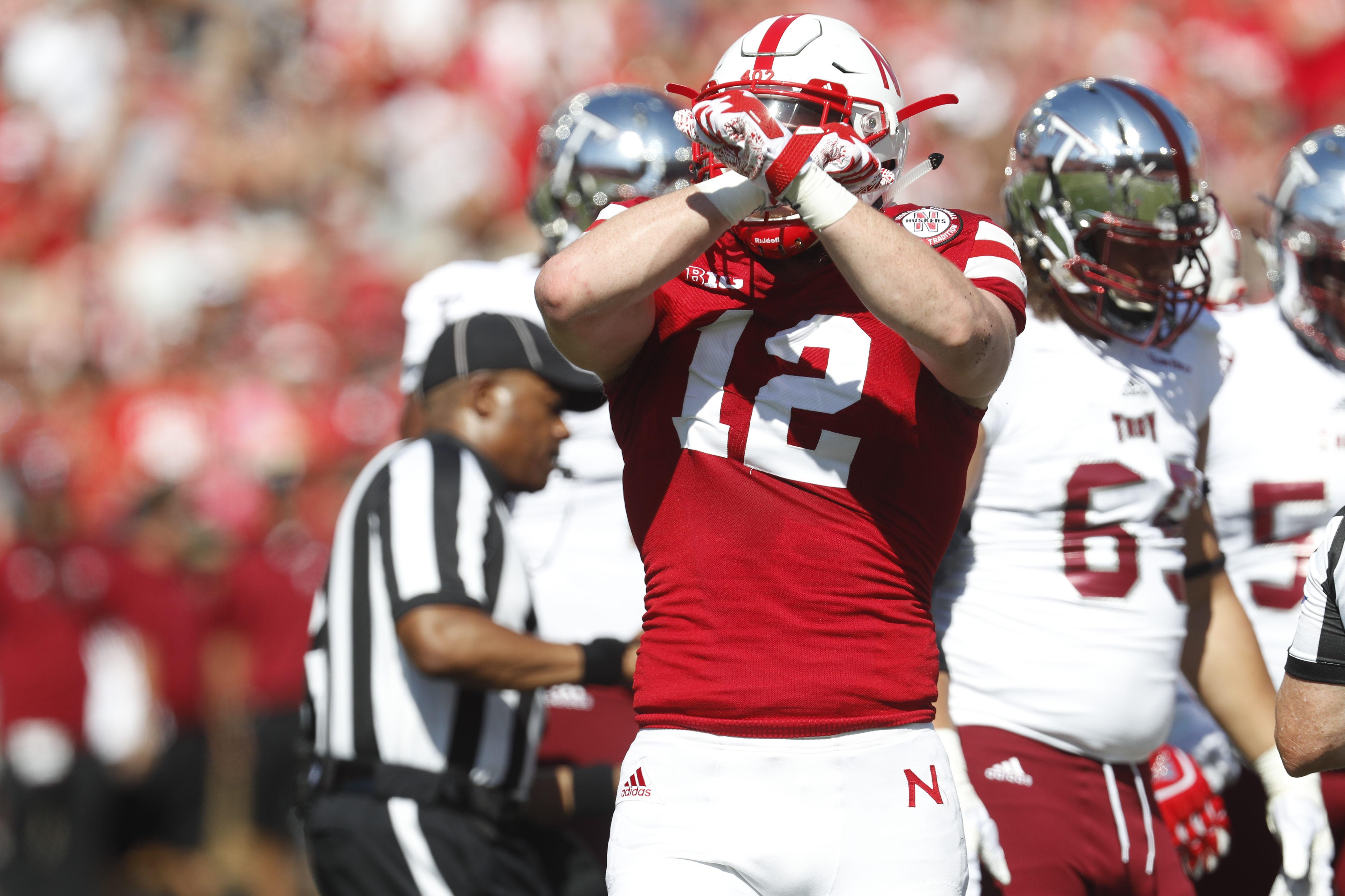 NCAA Football: Troy at Nebraska