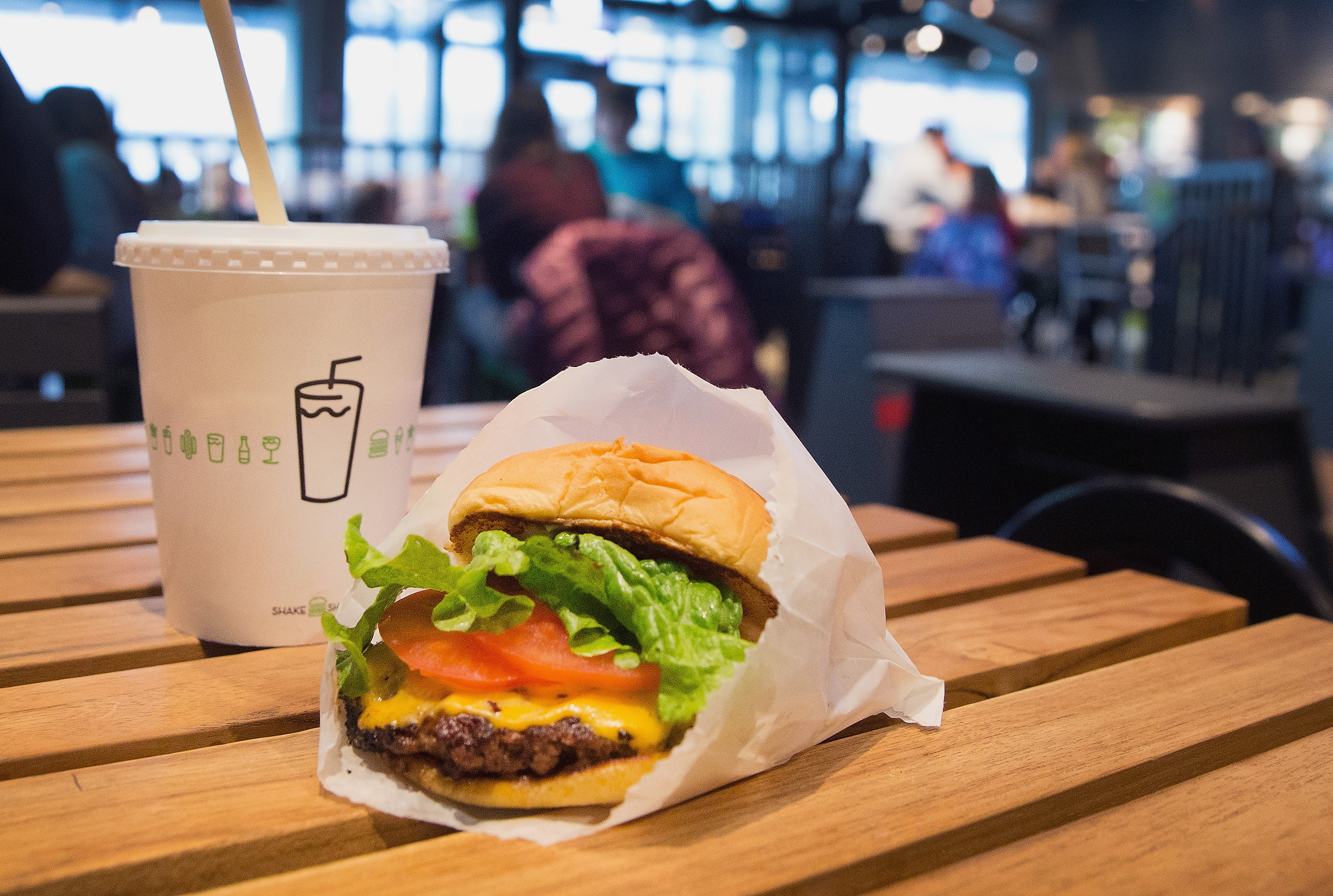 Shake Shack Is Ditching Plastic Straws at Locations Across America