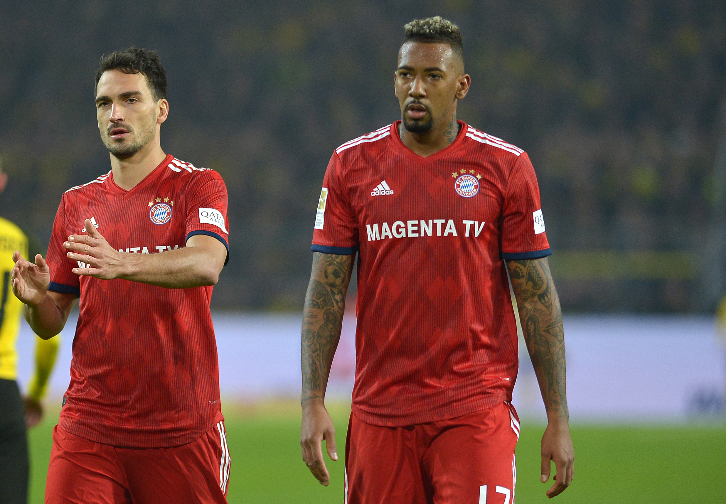 0bfec61c9 Pokal semifinal might be last match together for Mats Hummels and Jerome  Boateng