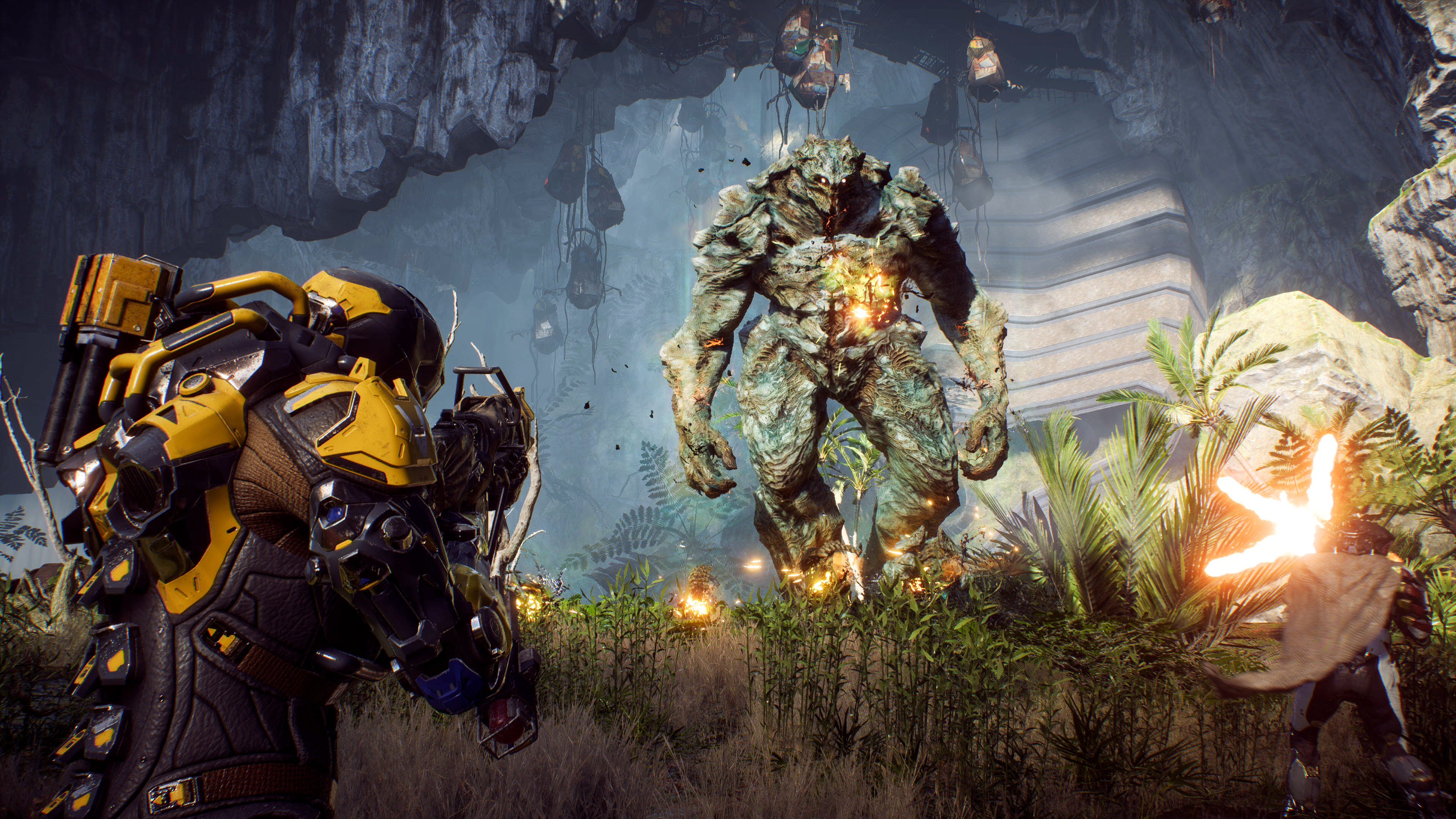 Anthem's latest patch adds a new Stronghold and mid-mission gear swapping
