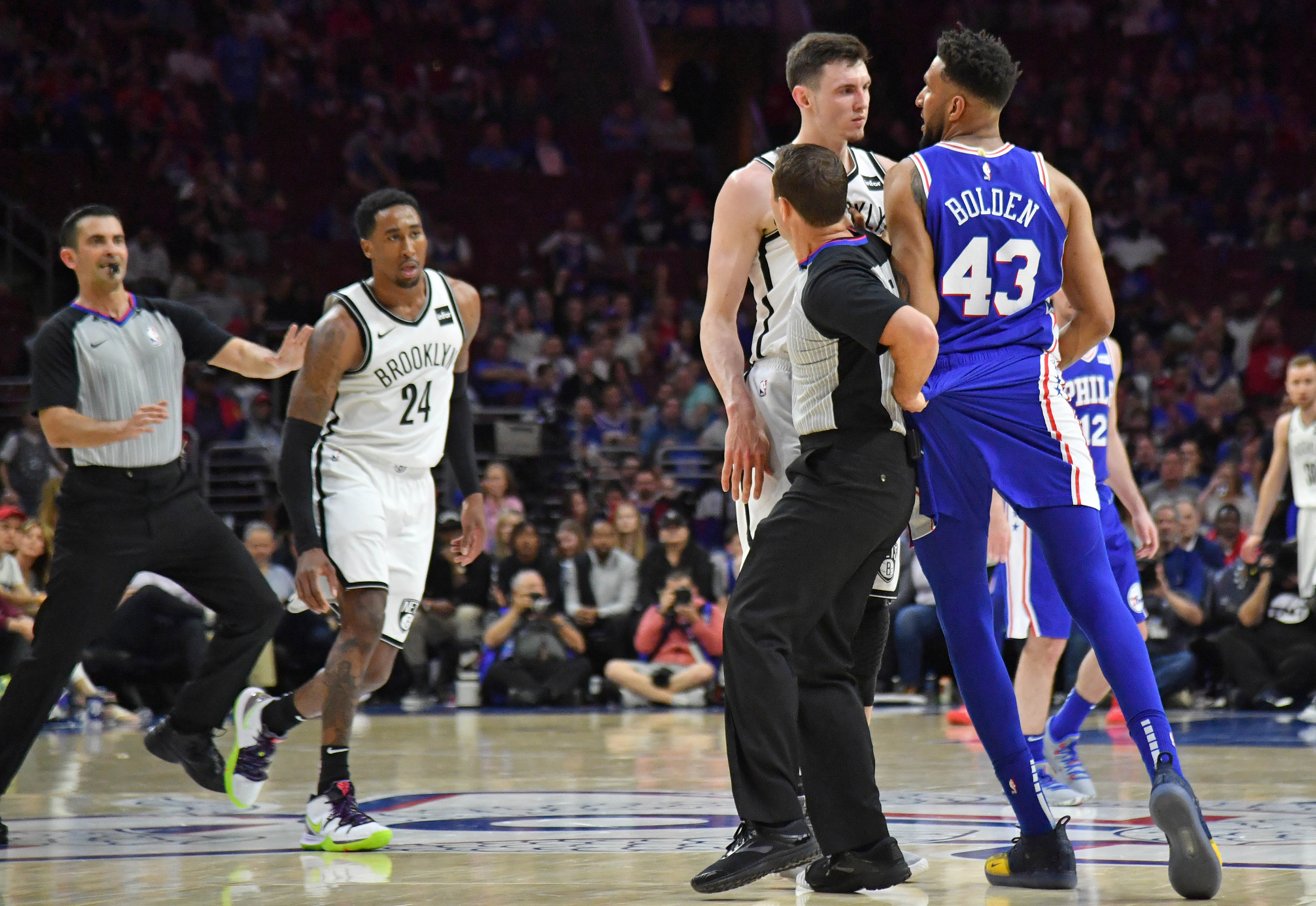 Nets-Sixers series ended with the most pointless beef