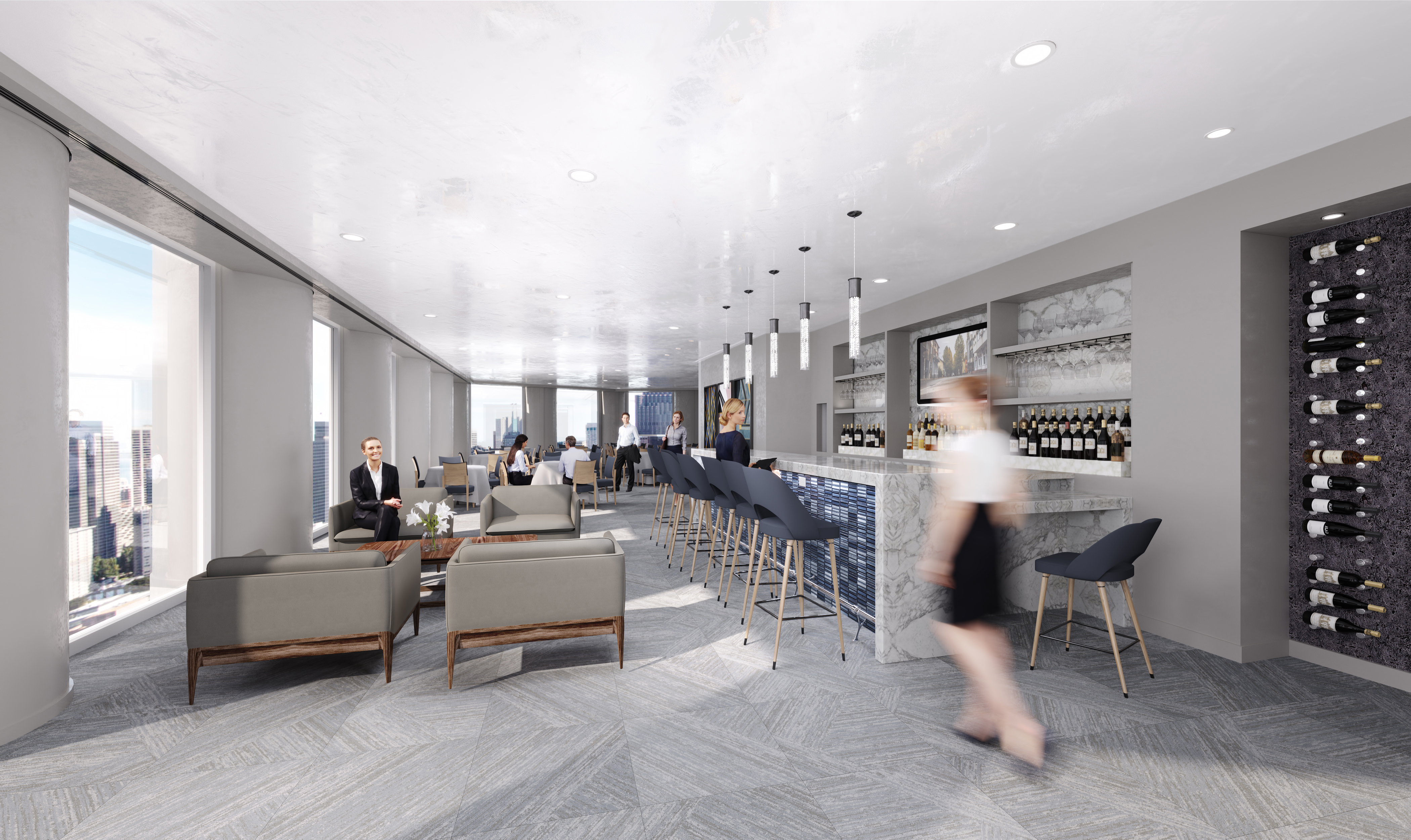 Houston's Sky-High Restaurant Strato 550 Is One Step Closer to Opening