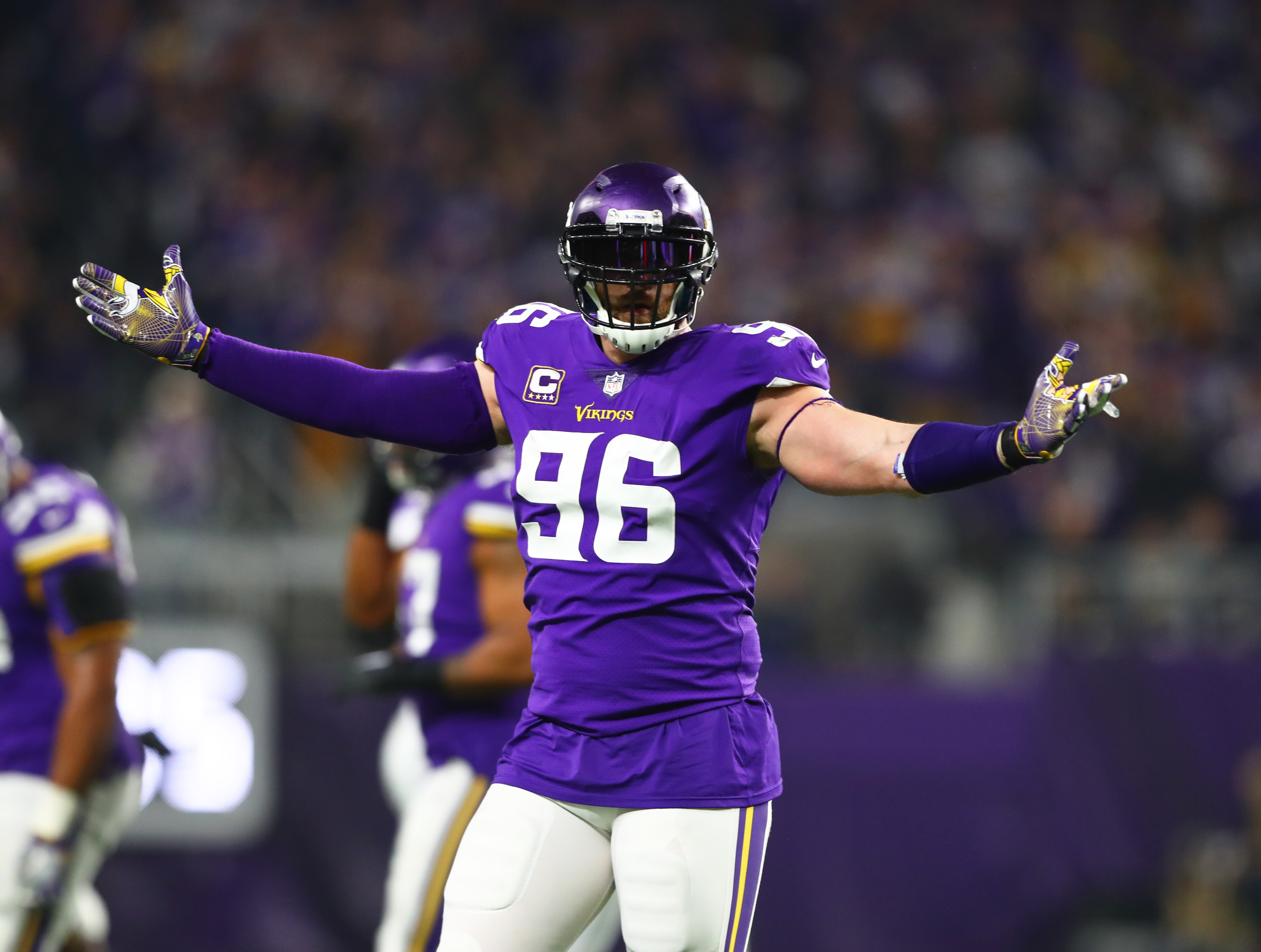 new products a41a8 53b6a Brian Robison signs a one day contract and retires as a ...