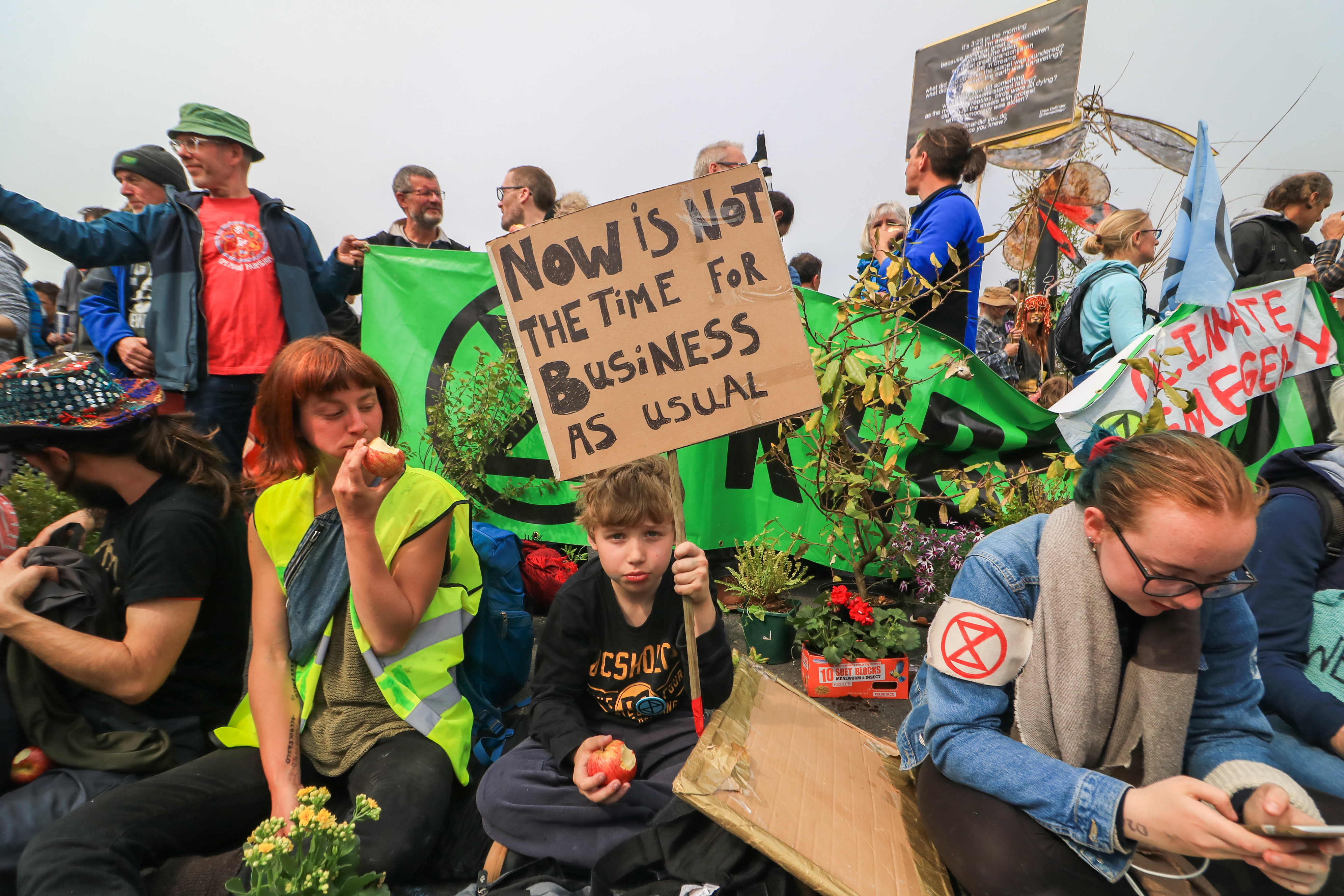 Climate change protests in London: Extinction Rebellion, explained