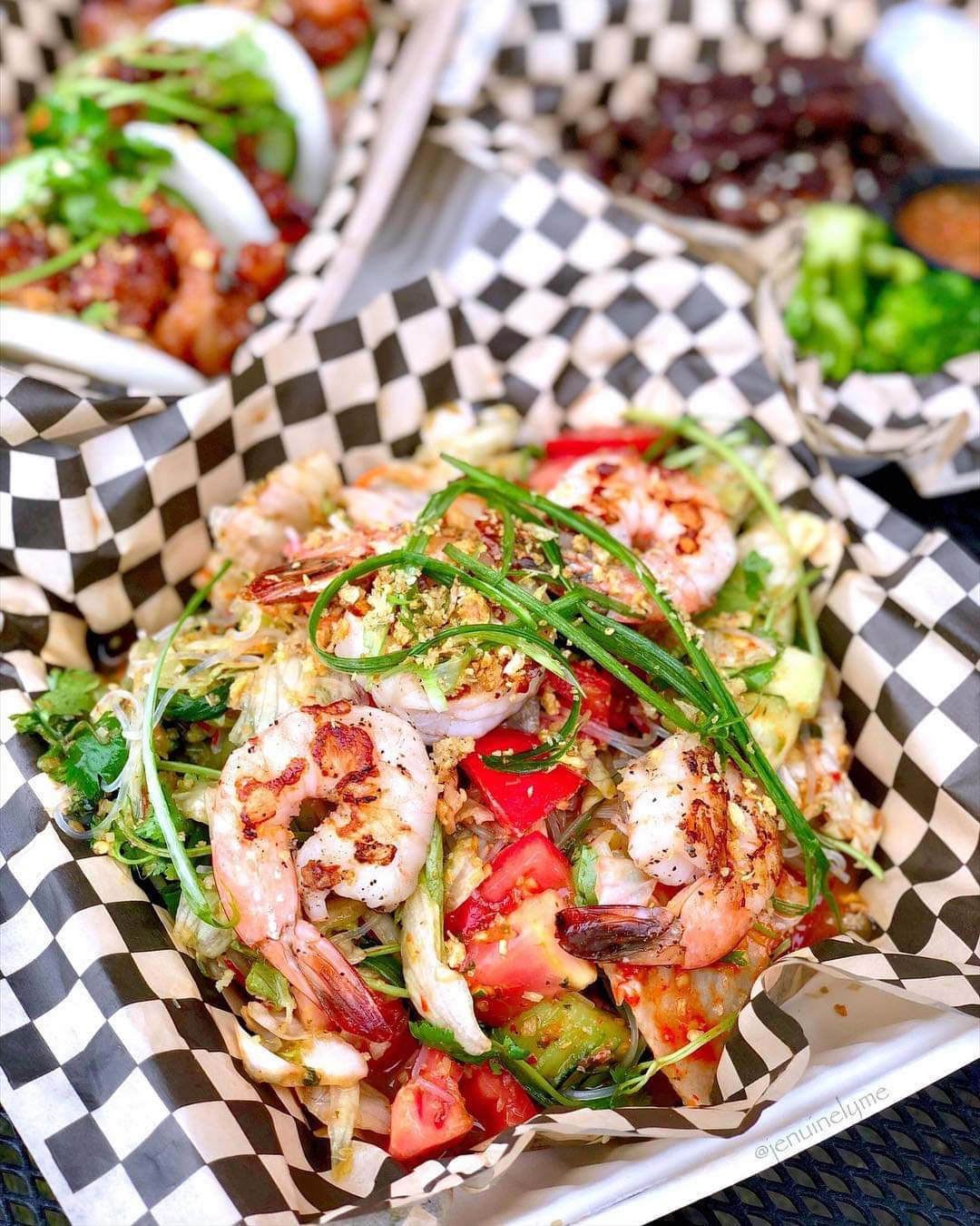A New Food Cart Serving Lao Specialties Has Opened in Southeast's Cartlandia Food Pod