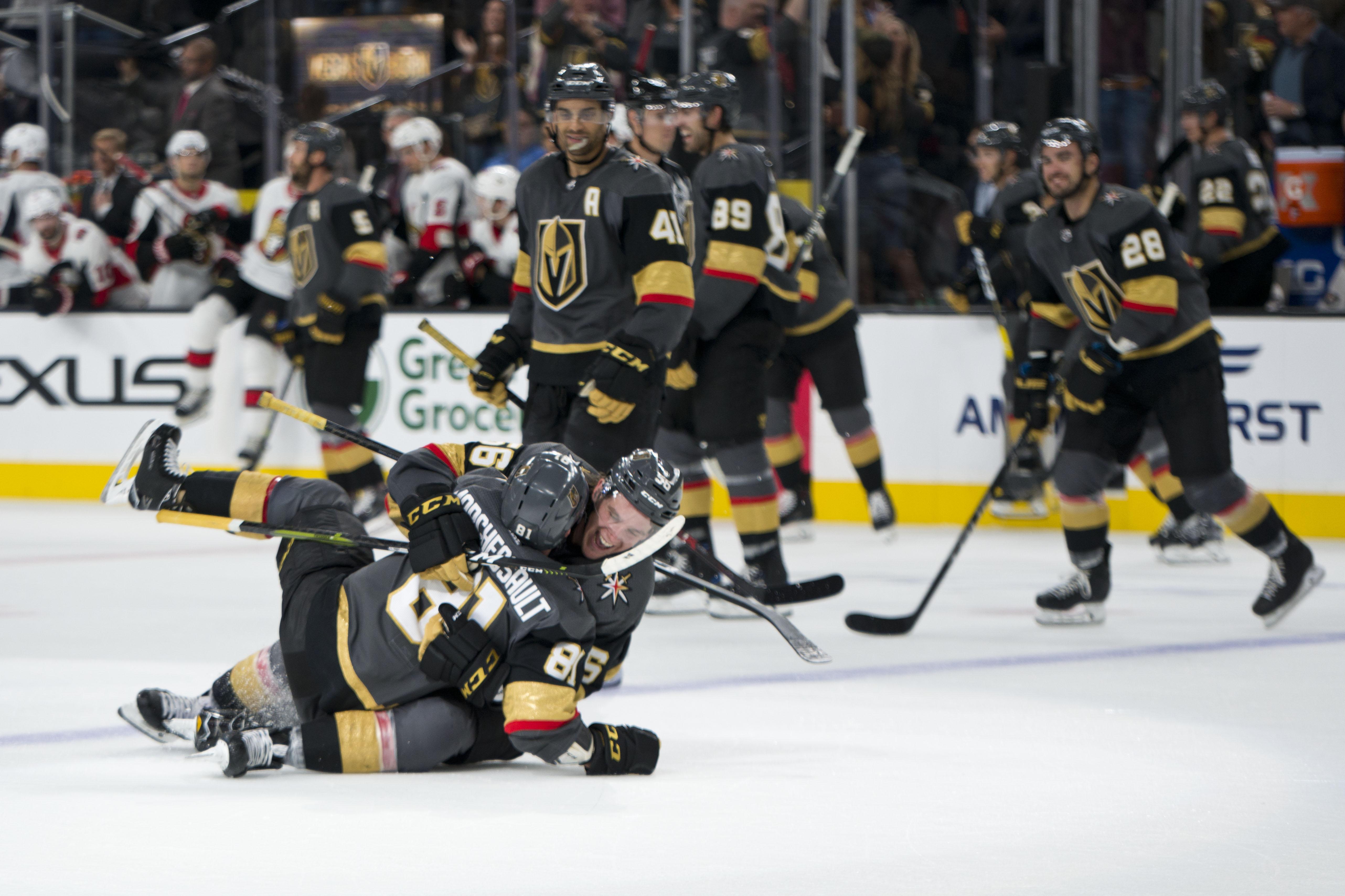 NHL: Ottawa Senators at Vegas Golden Knights