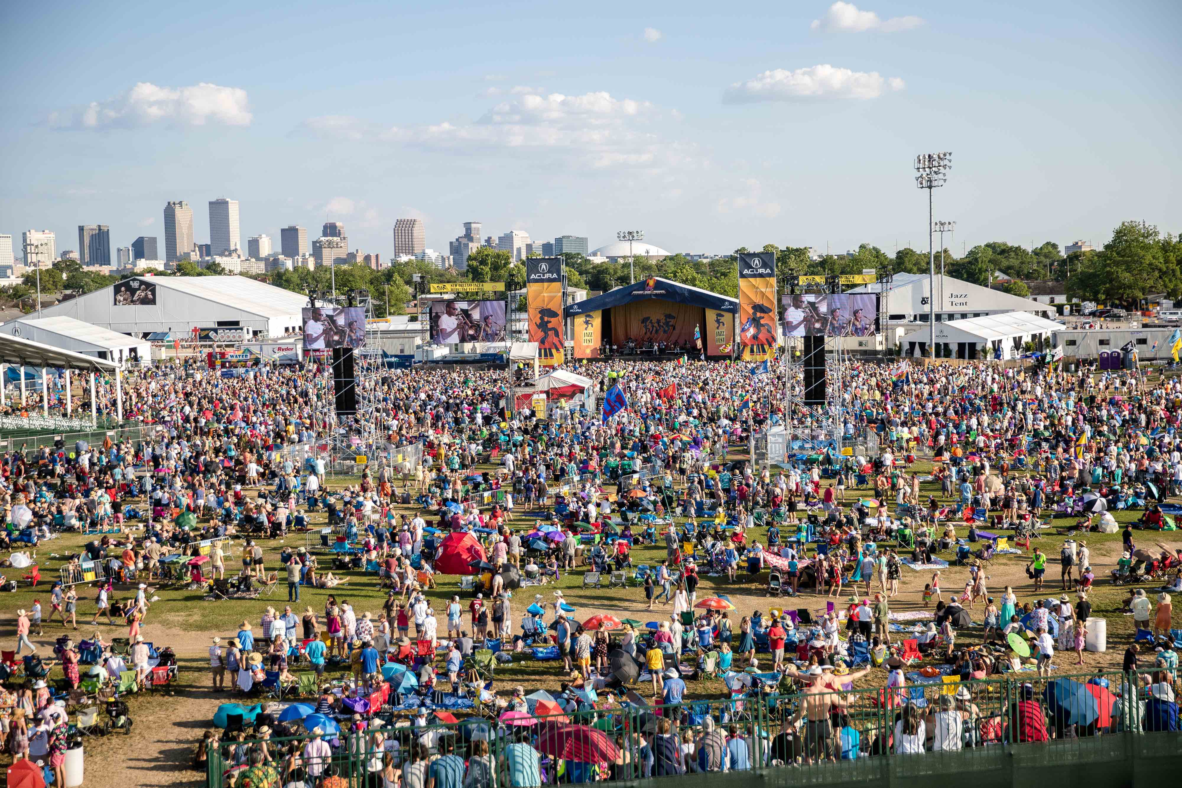 Six ways to get to Jazz Fest, ranked from least to most strenuous