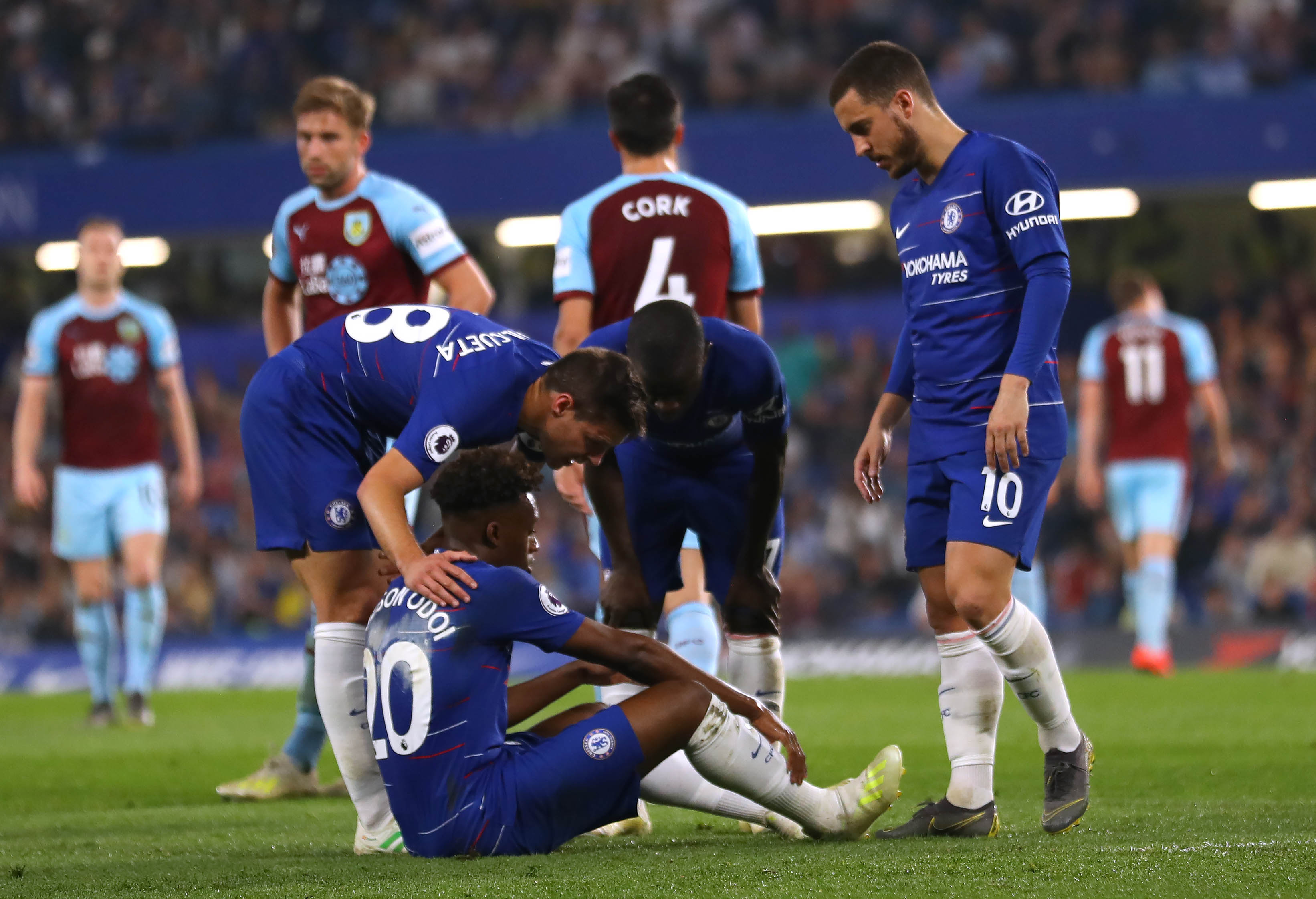 Bayern president distances team from Hudson-Odoi in current injury 'phase'