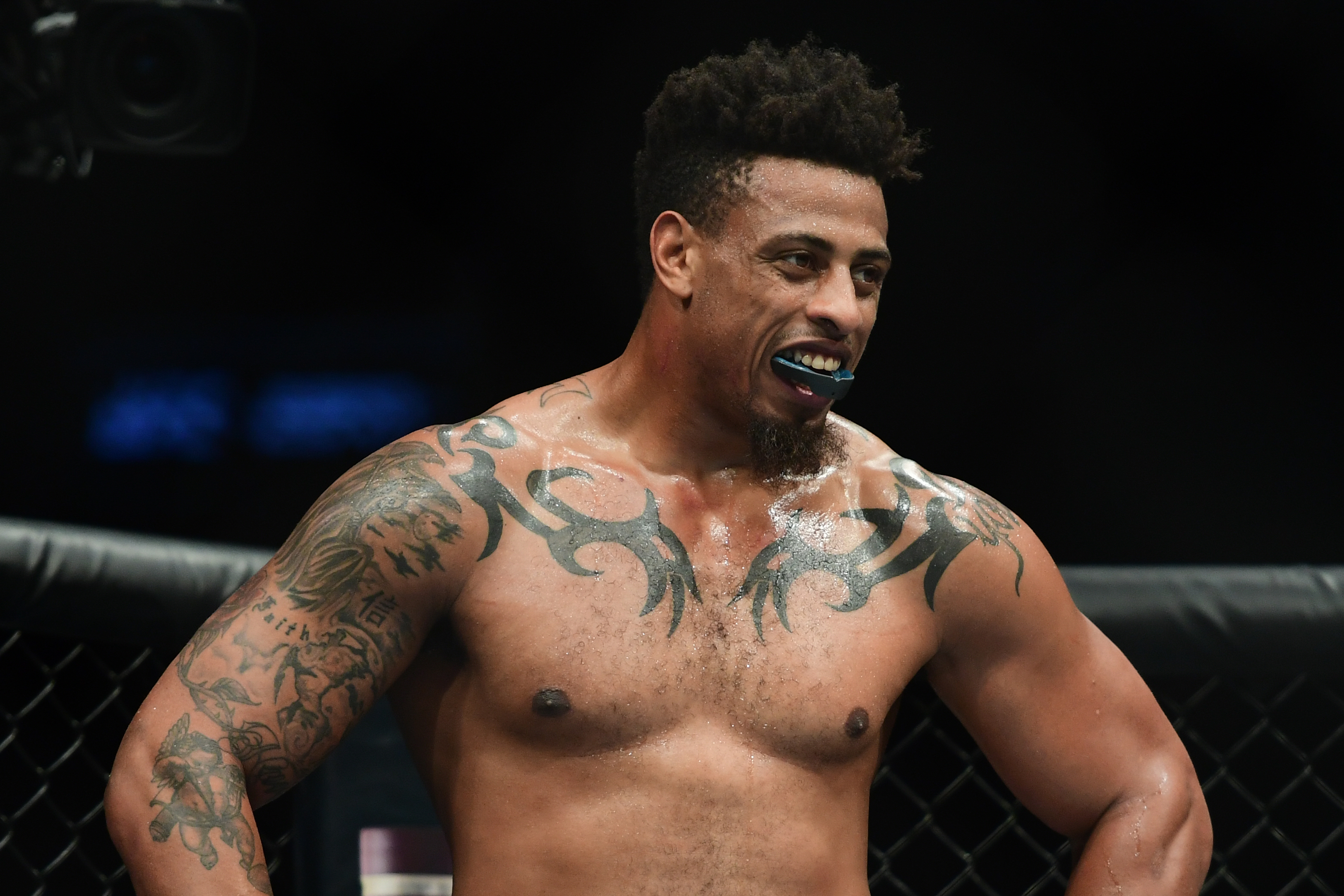 Greg Hardy 'humbled' by 'frustrating' loss in UFC debut