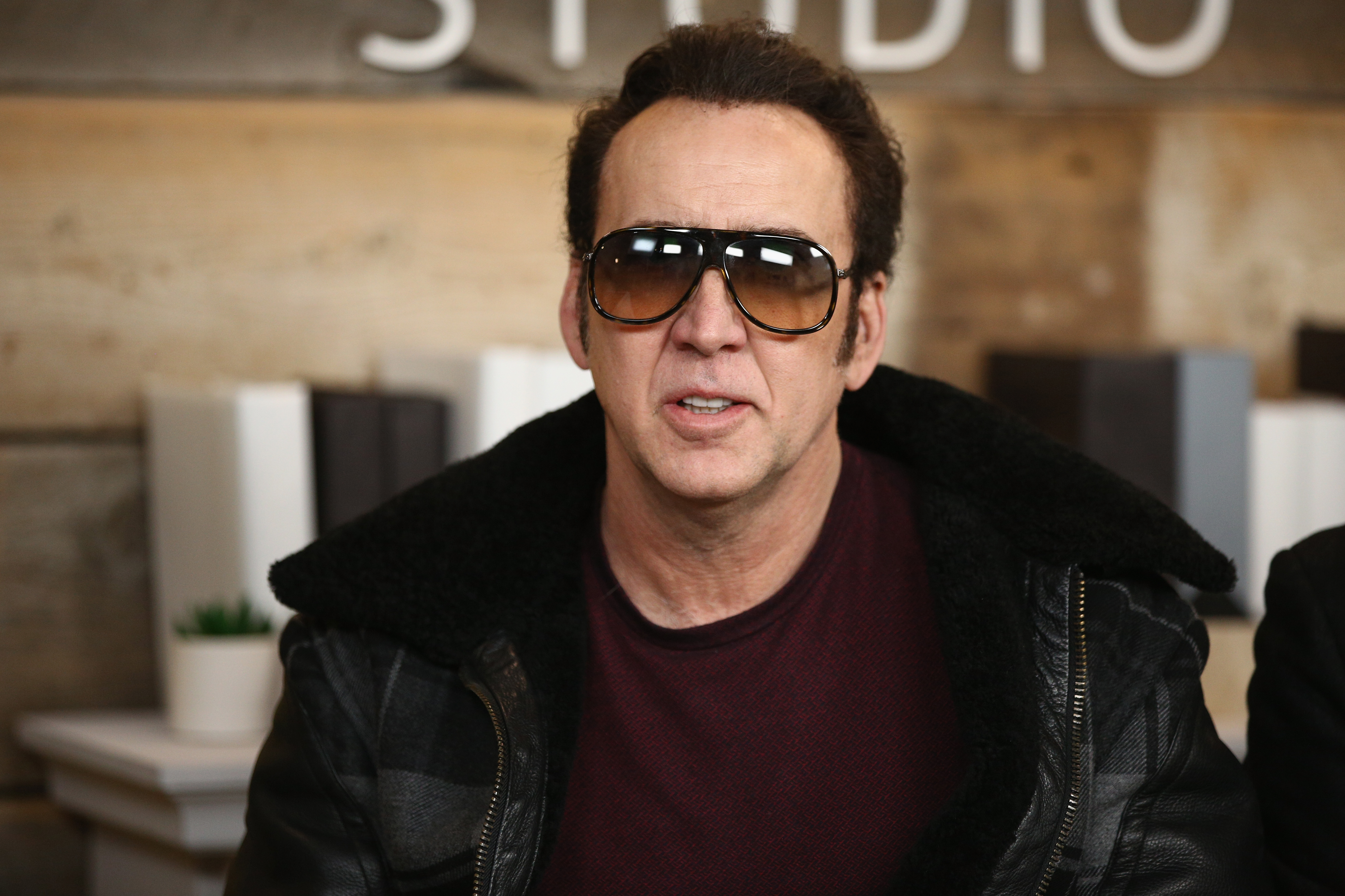 Nicolas Cage Took Out All His Frustrations Inside a Koreatown Karaoke Bar
