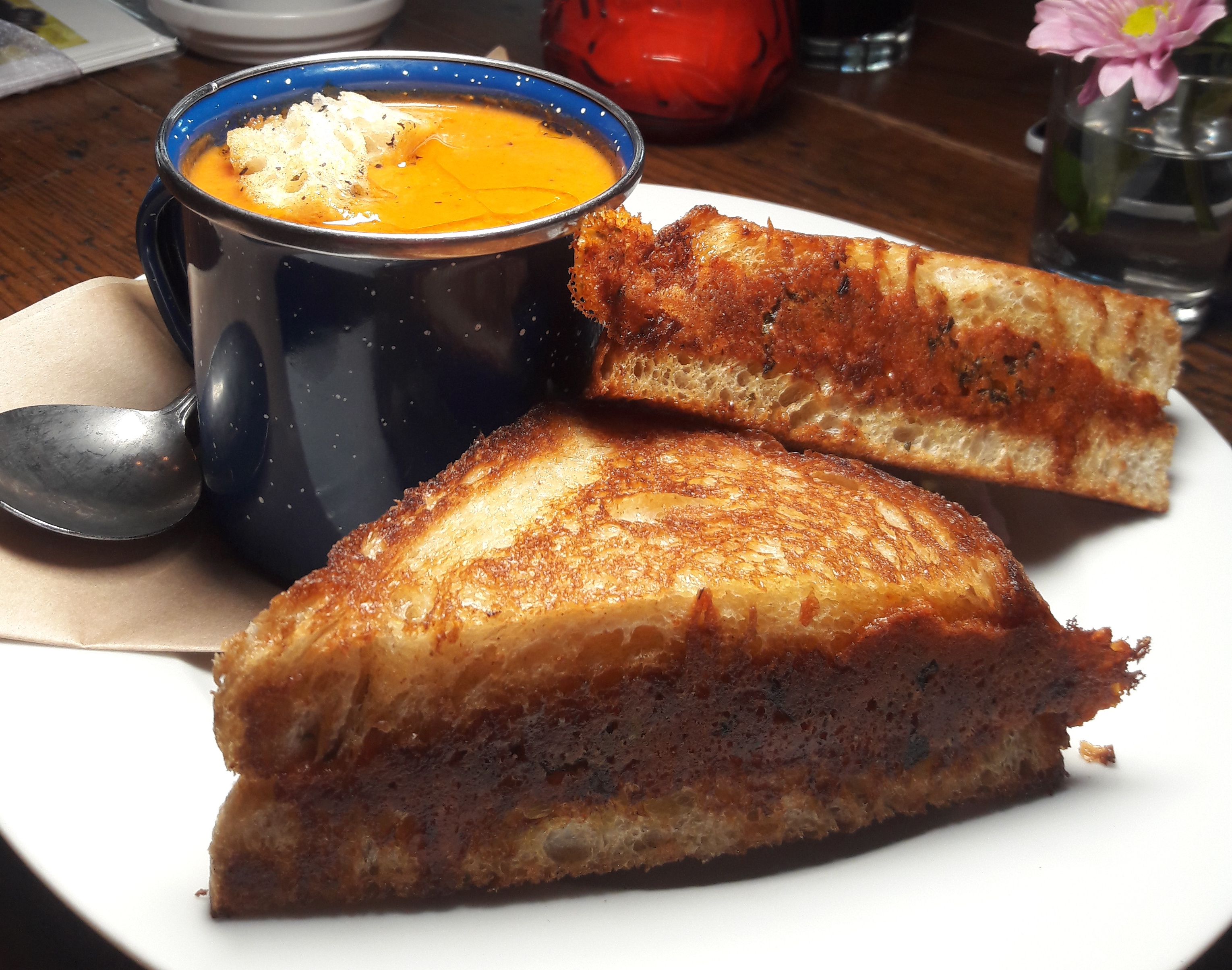 Where to Find Super-Nostalgic Grilled Cheese and Tomato Soup in Portland