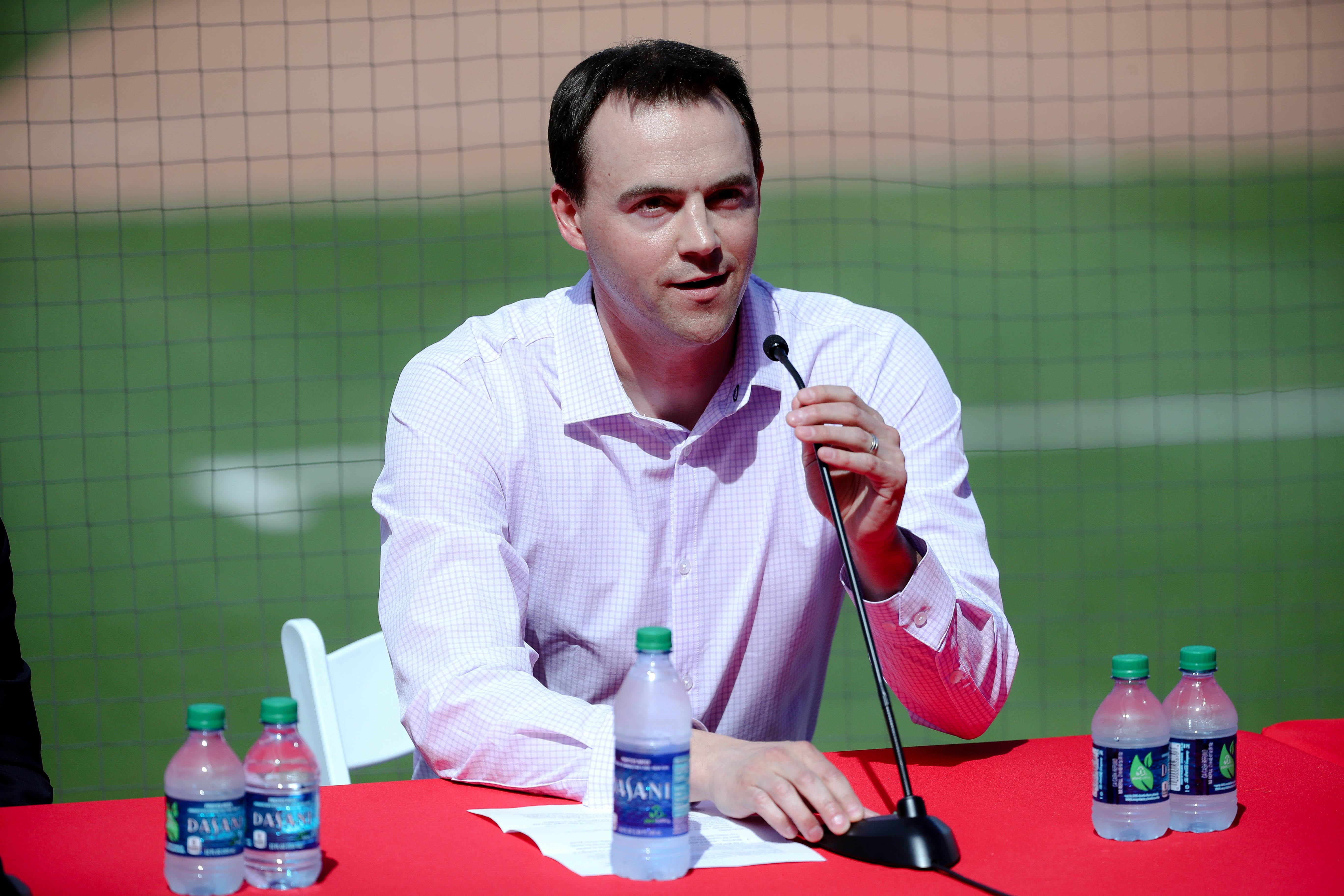 MLB: Philadelphia Phillies-Bryce Harper Press Conference