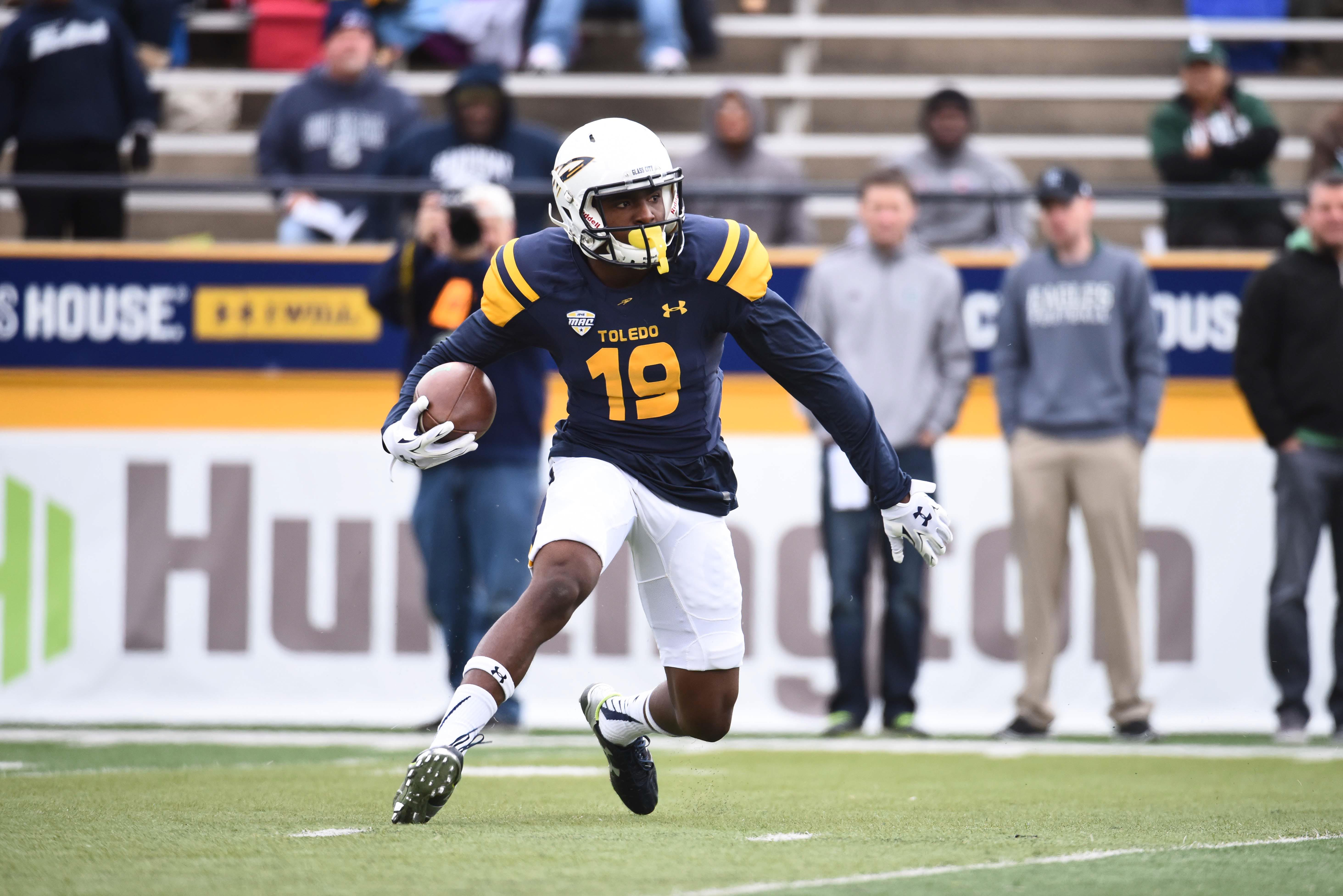 NCAA Football: Eastern Michigan at Toledo