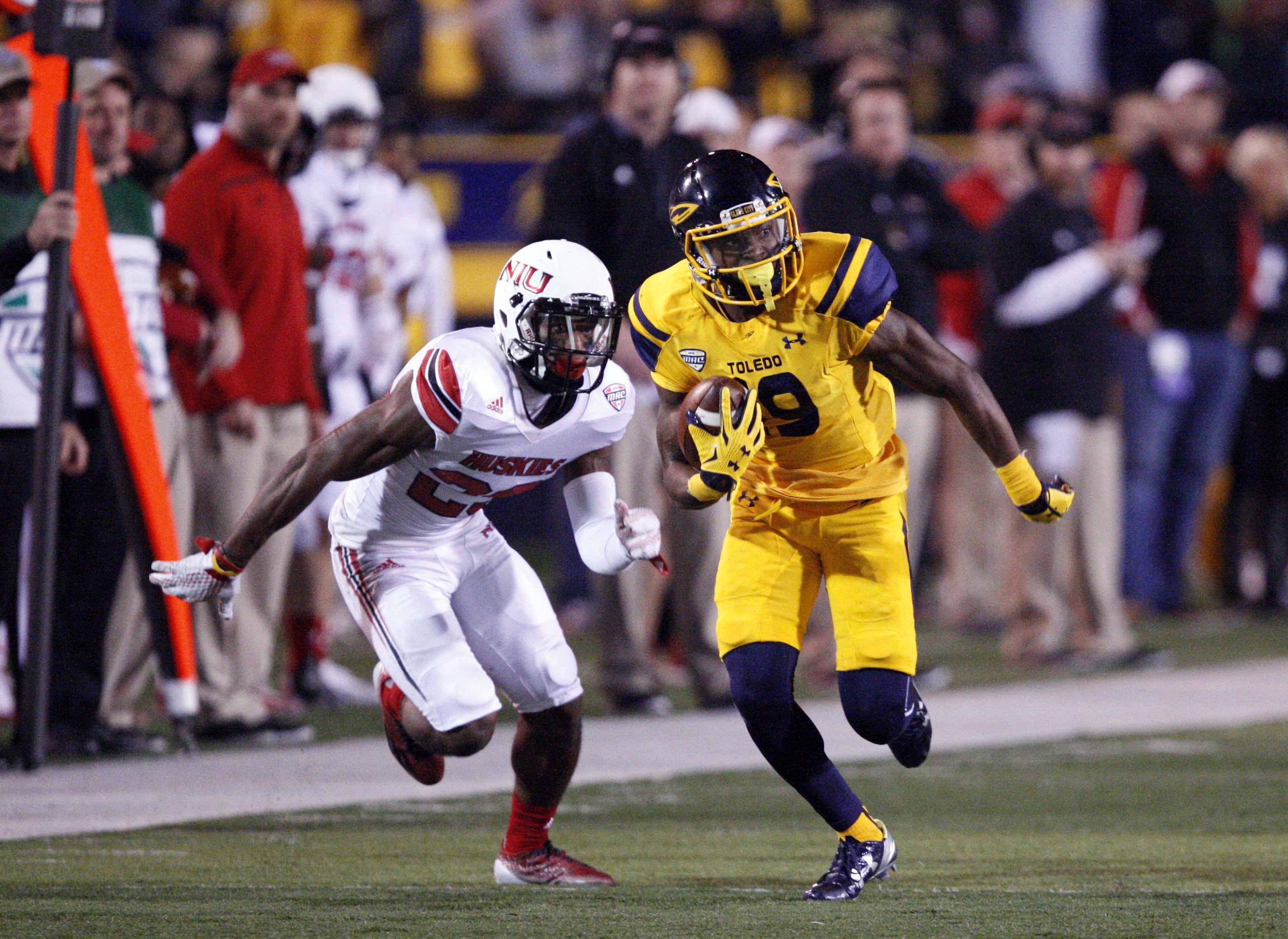 NCAA Football: Northern Illinois at Toledo