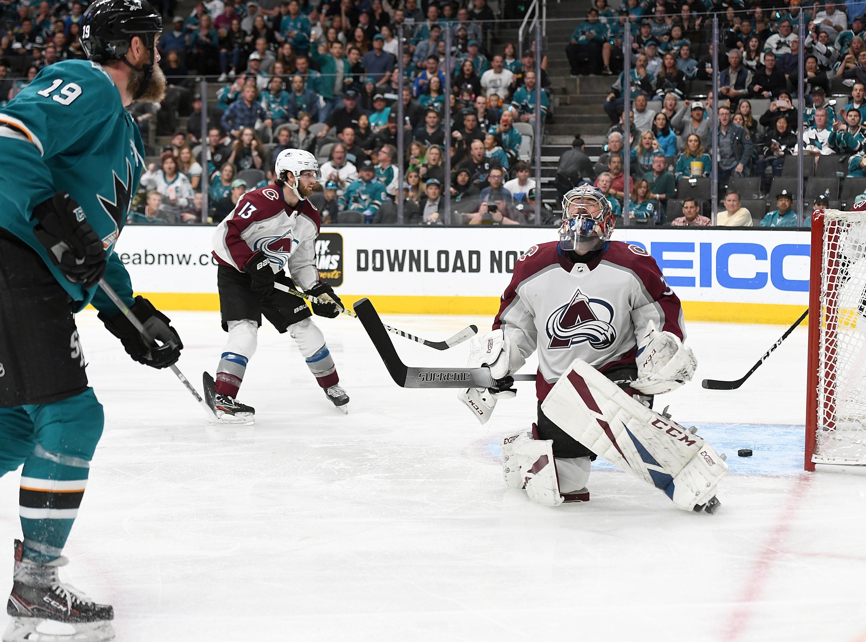 Colorado Avalanche v San Jose Sharks - Game One
