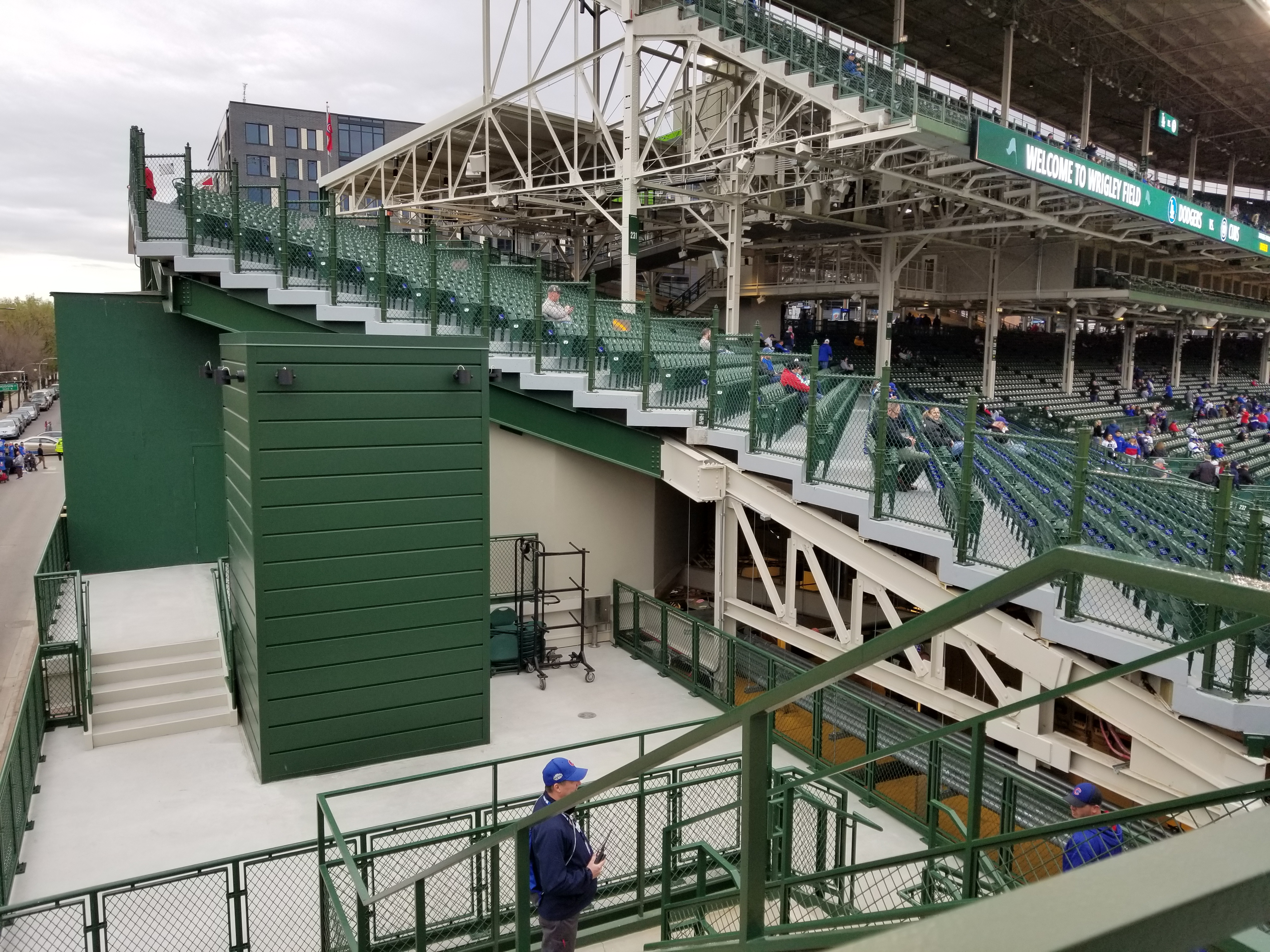 Wrigley Field renovations - Bleed Cubbie Blue