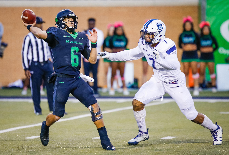 NCAA Football: Old Dominion at North Texas