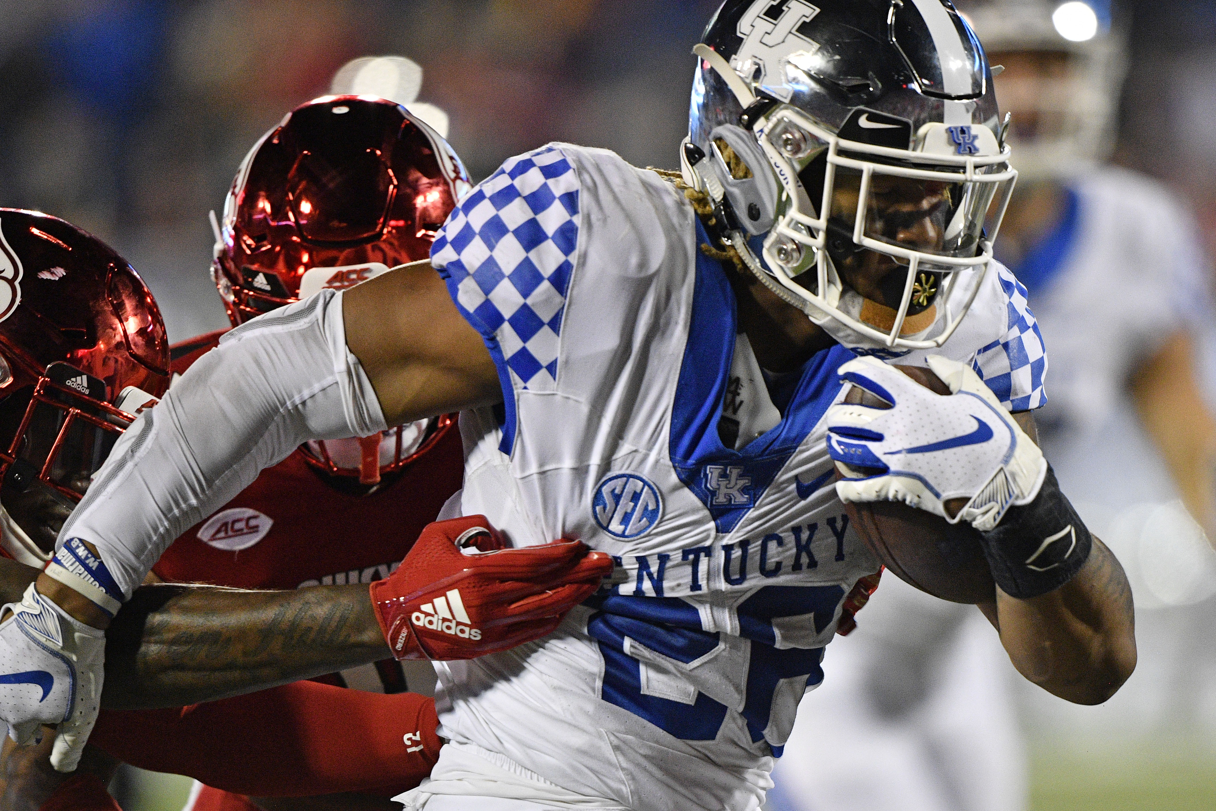 NCAA Football: Kentucky at Louisville